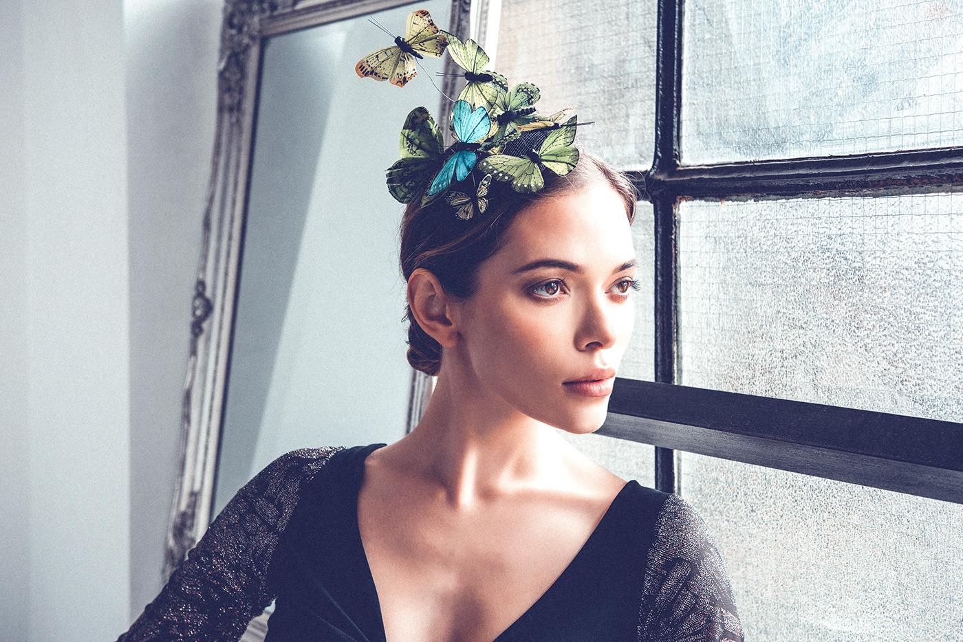 beauty butterfly editorial Fashion  fashion photography Fotografia moda model Photography  portrait