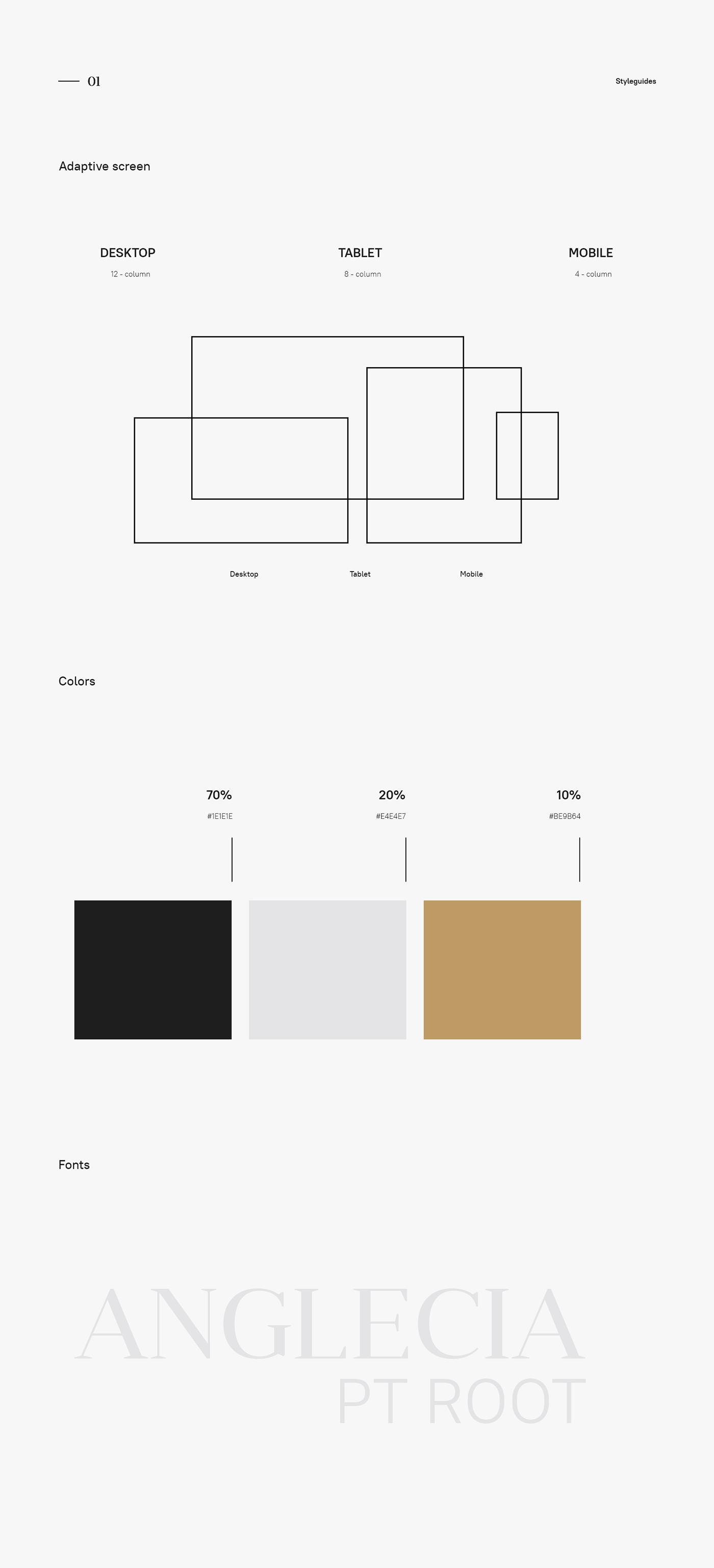branding  landing page redesign Web Design