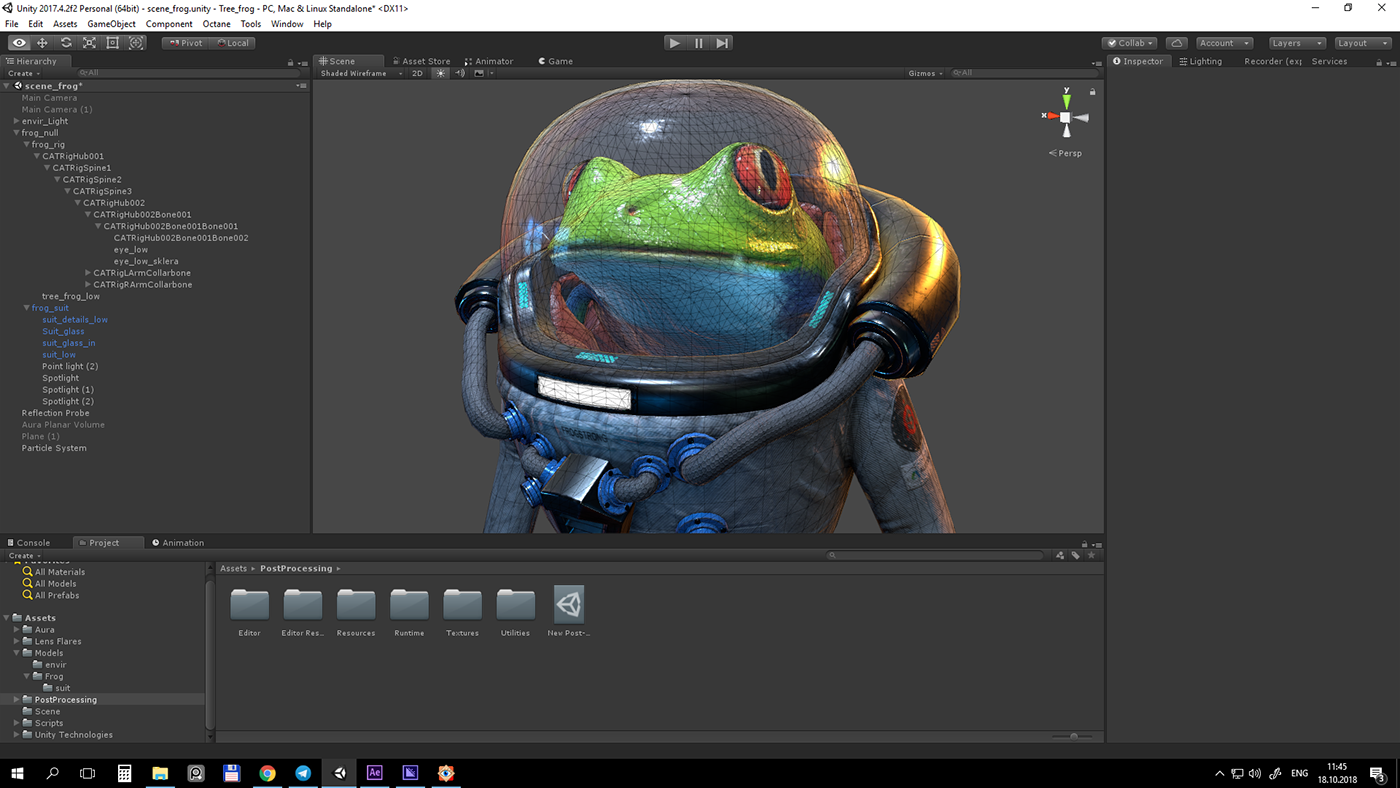 Space frog  Unity realtime on Behance