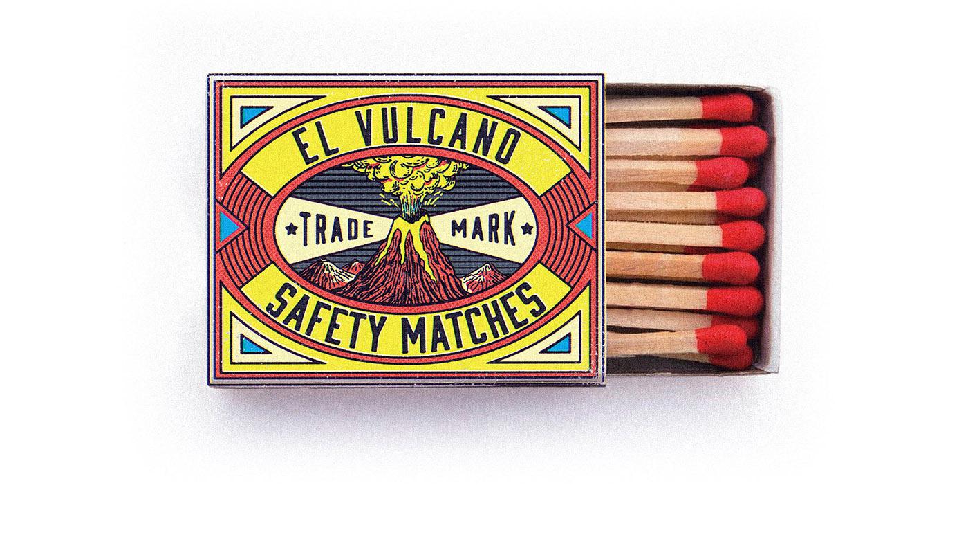 Matchbox Matchbook vintage Packaging João Neves nevesman Portugal lisboa Lisbon lettering