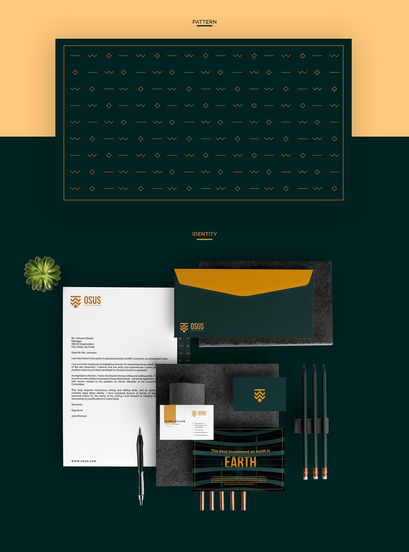 branding  Logo Design brand identity real estate presentation Corporate Identity property logo Printing