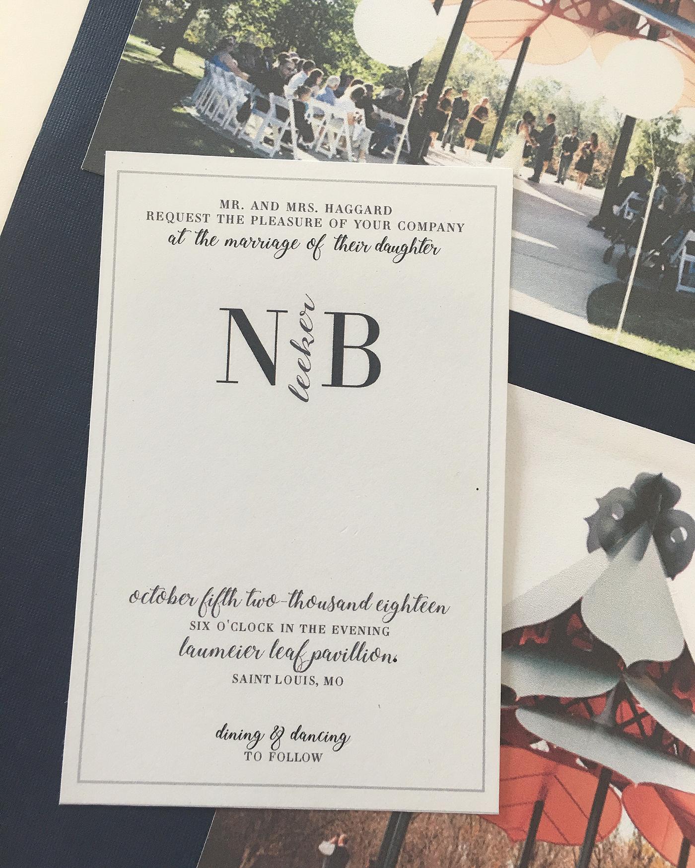 A Wedding Invitation & 3D print on Behance