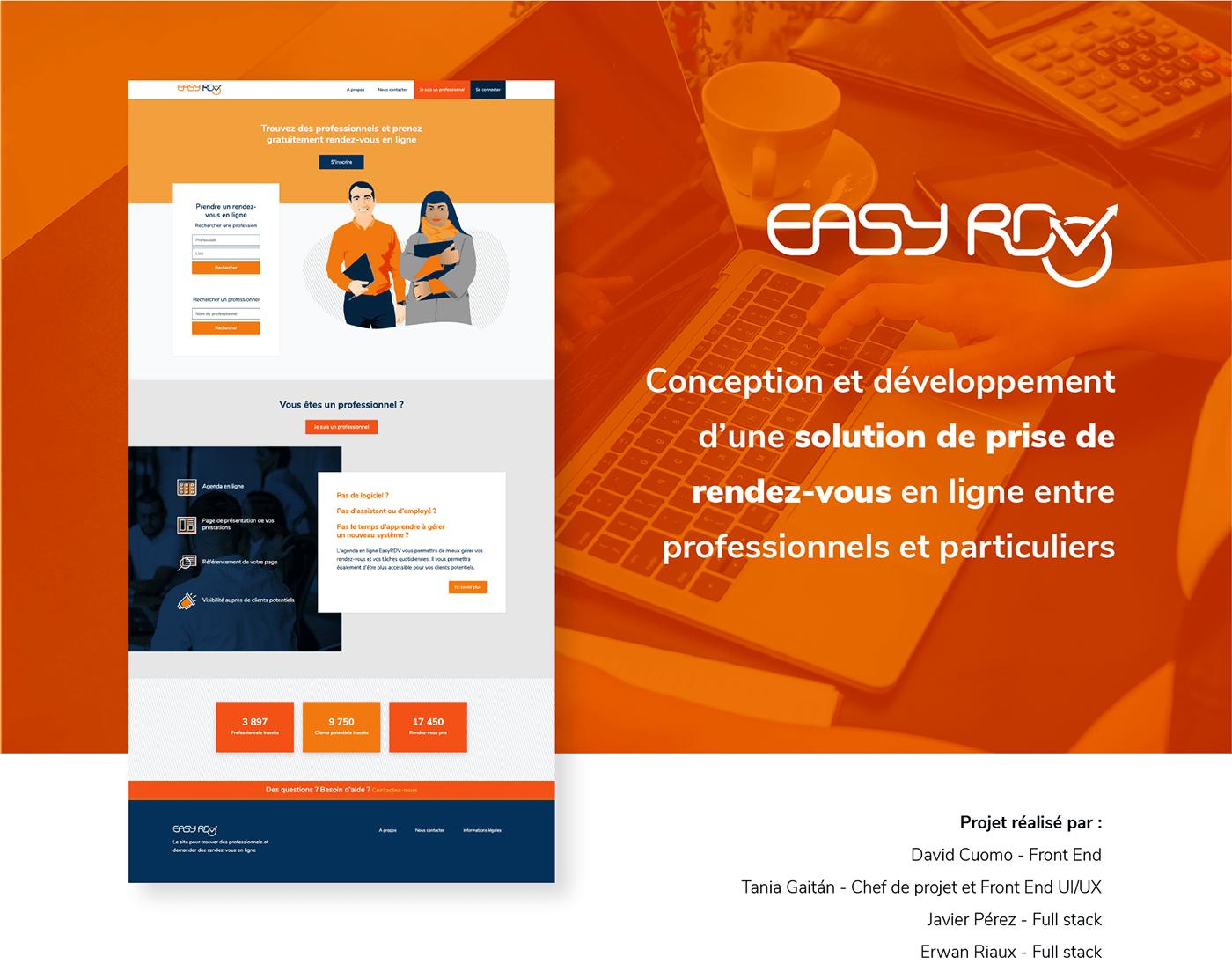application web laravel conception d'applications design UI/UX gestion de projets HTML css developpement