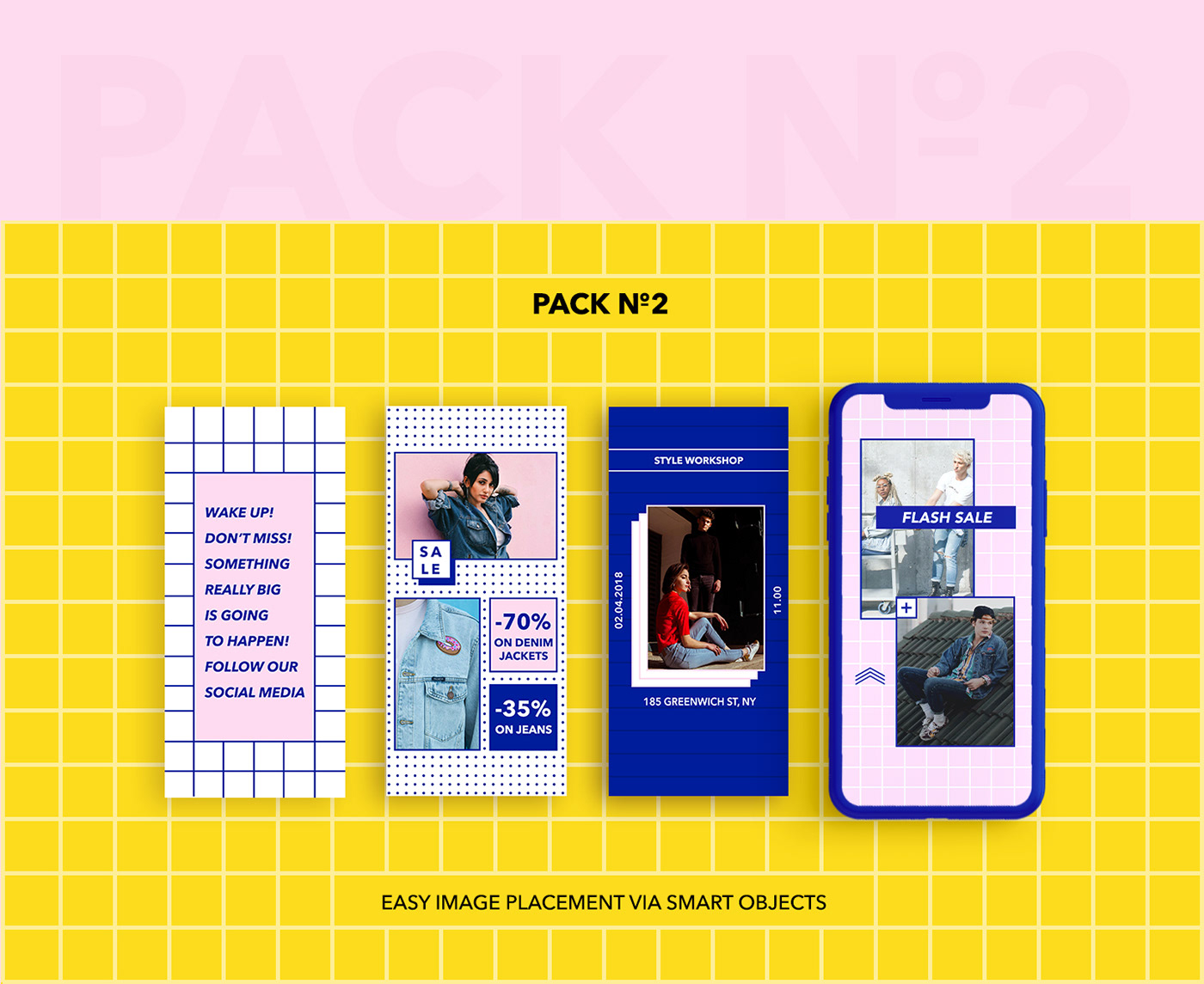 social media freebie template instagram Fashion  shop