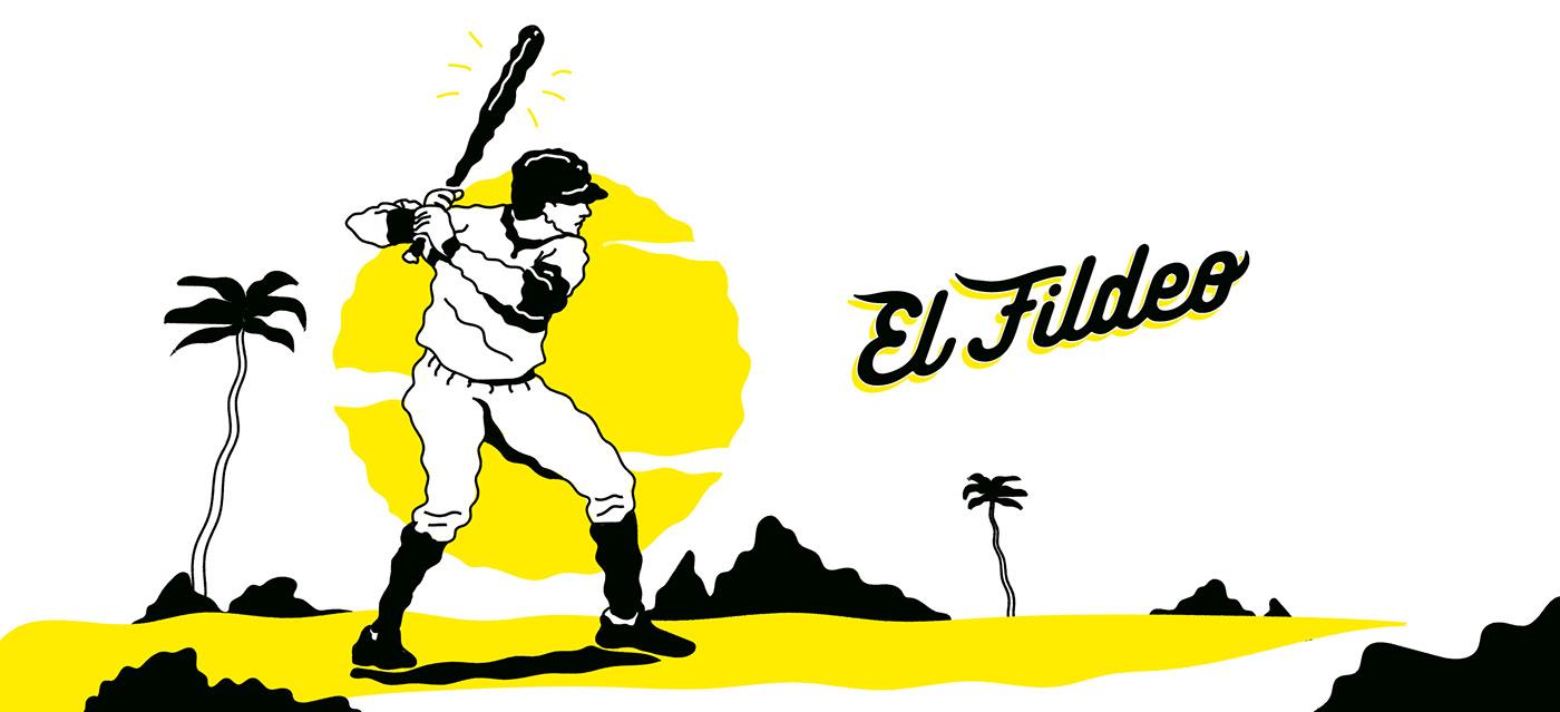 baseball logo beisbol sports Glove ball fire