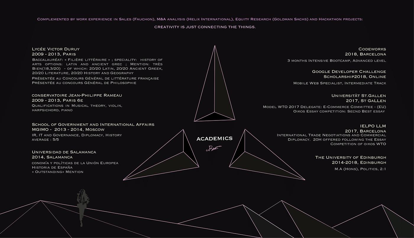 Nathalia Rus porftolio website design UI