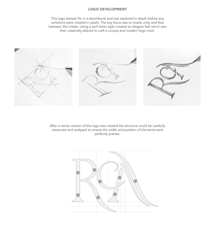 logo Logo analysis logo breakdown brand identity colour theory split-complementary typography   purple serif