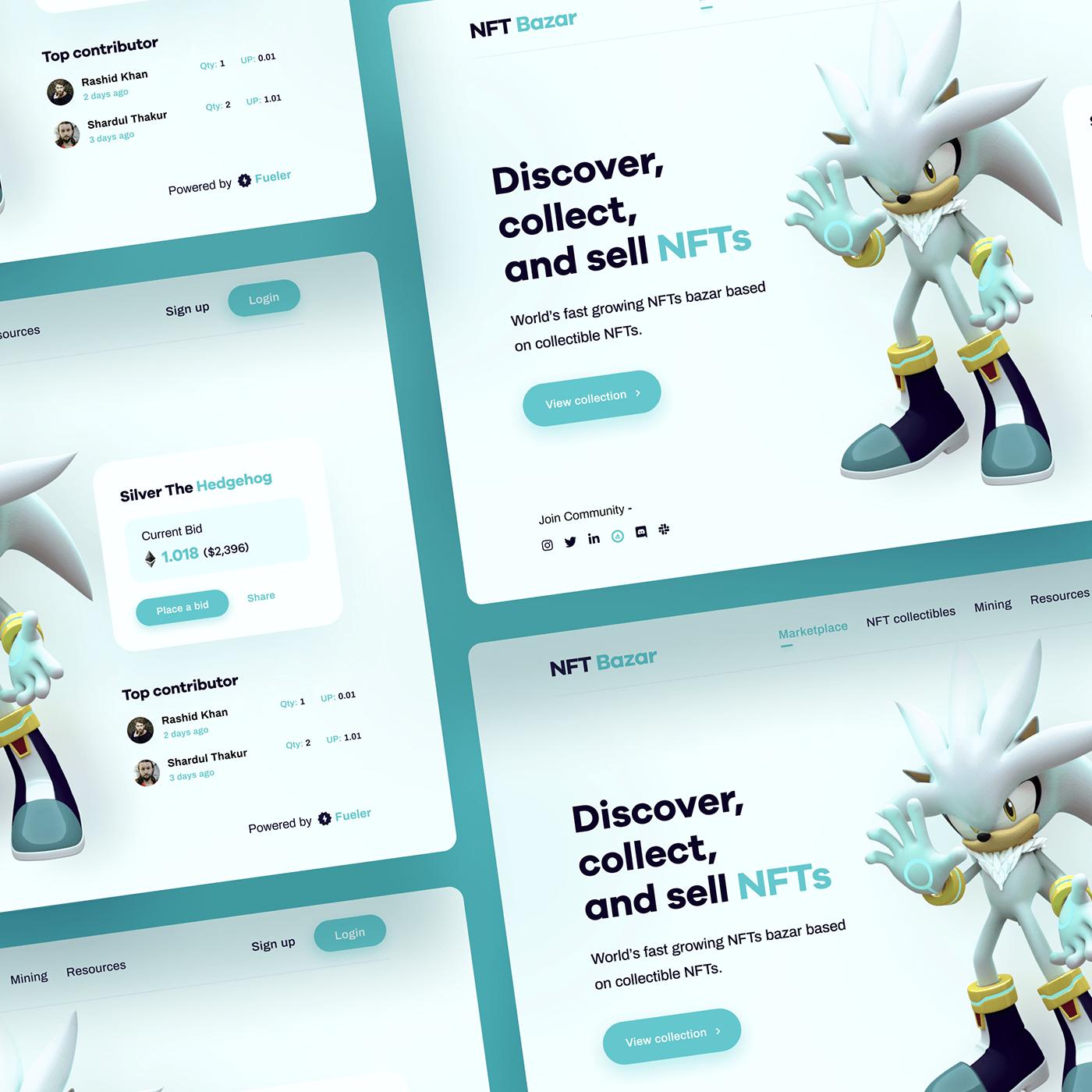 cryptocurrency design designer ethereum nft ui design uiux UX design Web Design  Website Design