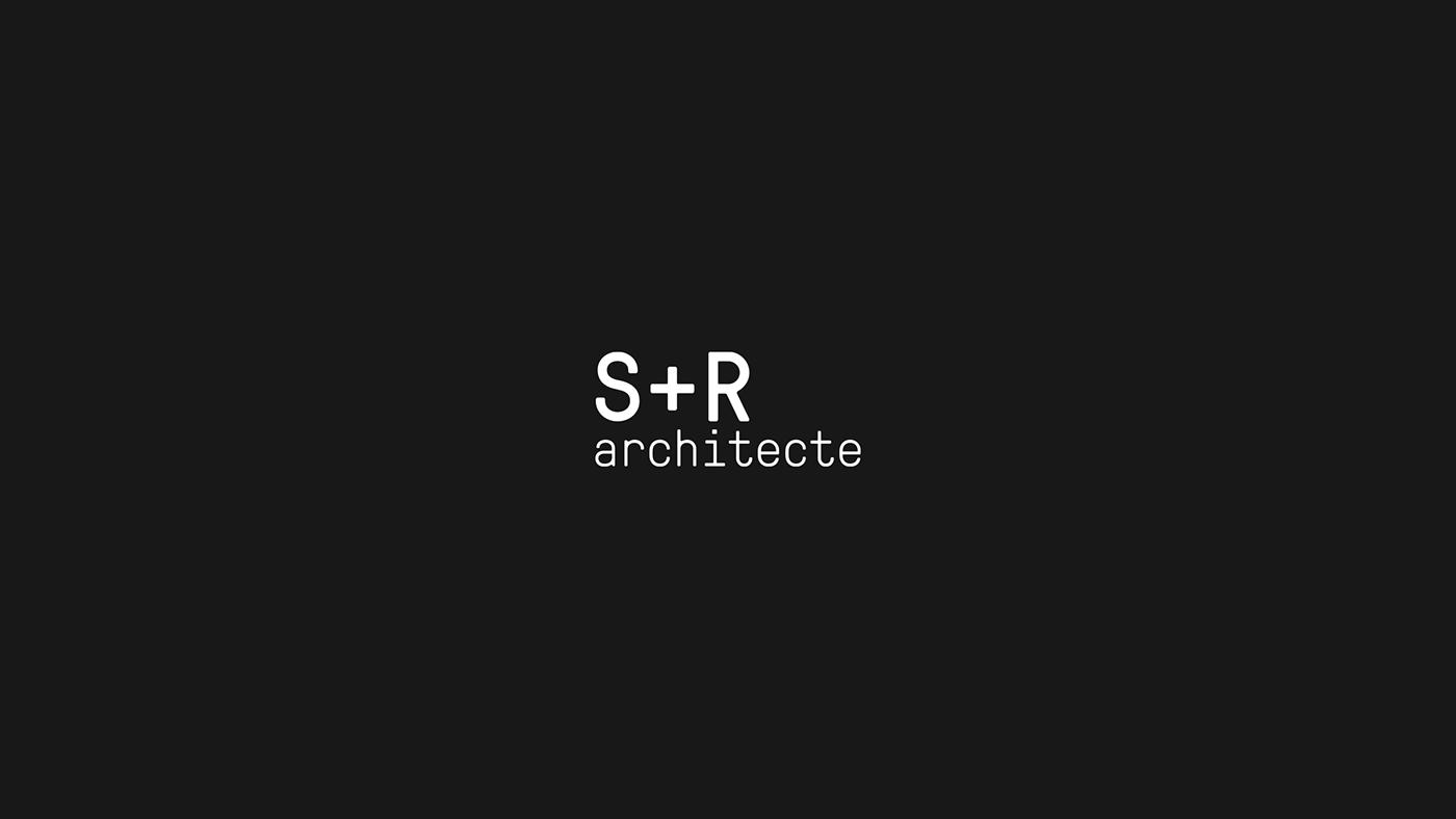 logo logotypes typography   graphic design  branding  brand identity Minimalism architecture lessismore