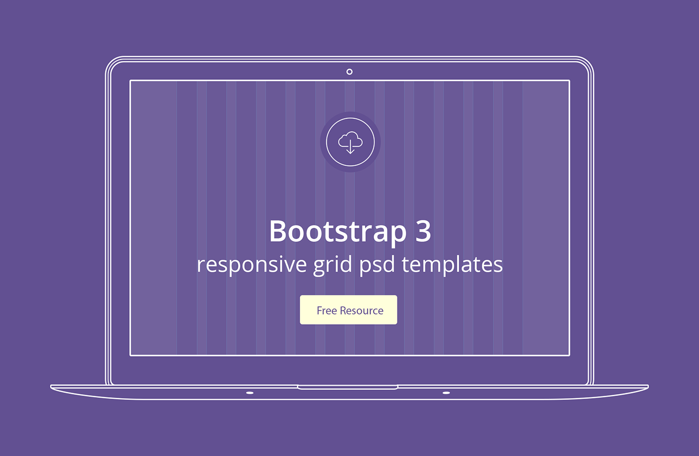 Bootstrap 3 responsive grid psd templates on Behance