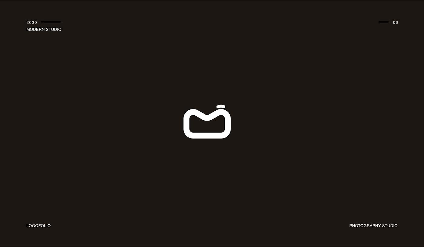 Modern studio logo, Photography studio
