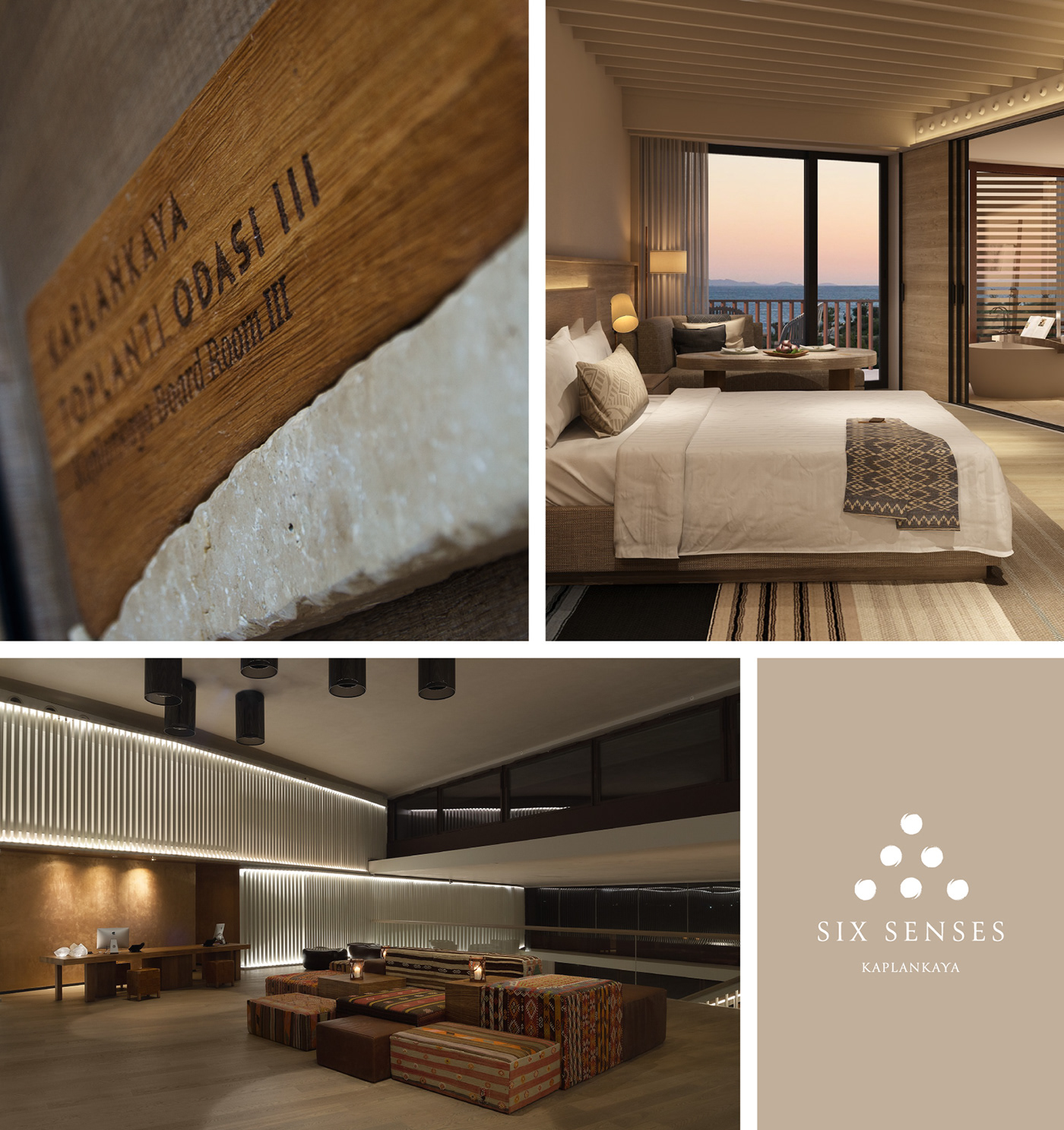 ArtDirection graphicdesign hotel naturalmaterials Signage Sustainable typography   wayfinding