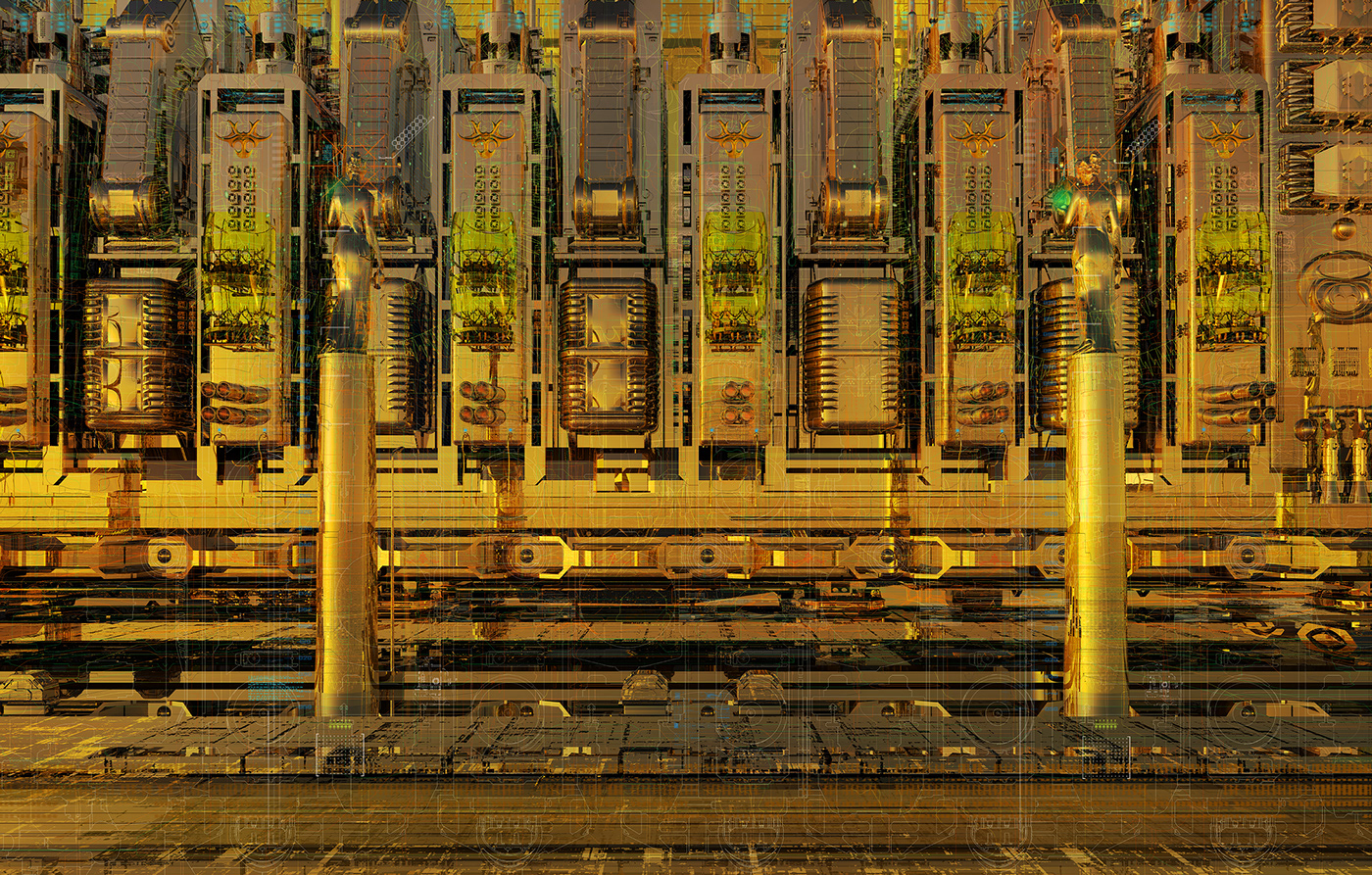 The Journey eternal machine non-machine hidint tears speculative architecture machine architecture remote machine remote-controlled phantastic architecture