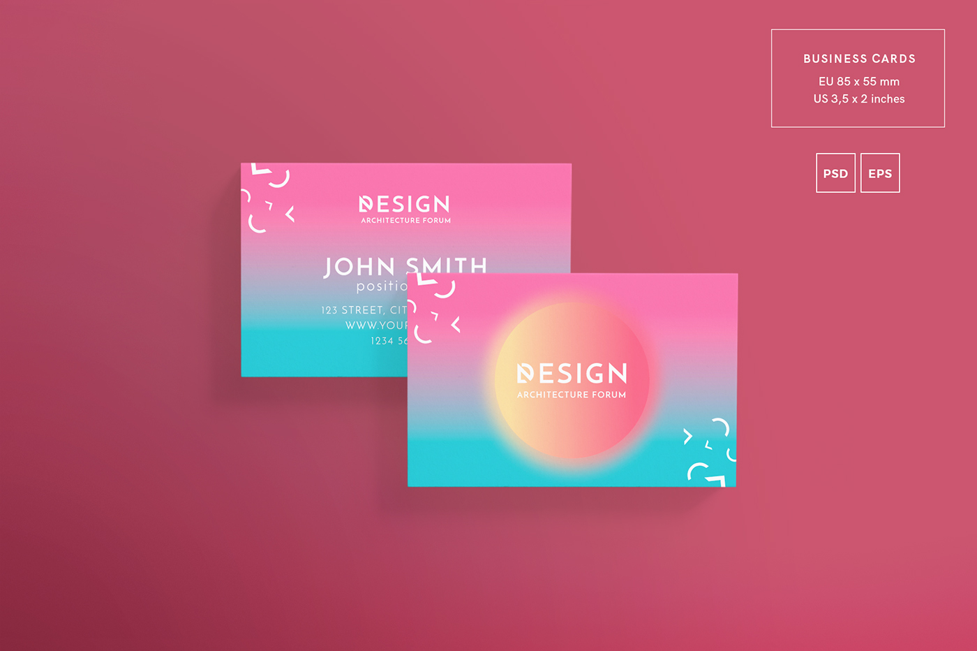 Architecture forum modern and creative design templates on behance super clean and professionally designed illustrator document template easy to use and customise layered photoshop template eps psd jpg files reheart Image collections