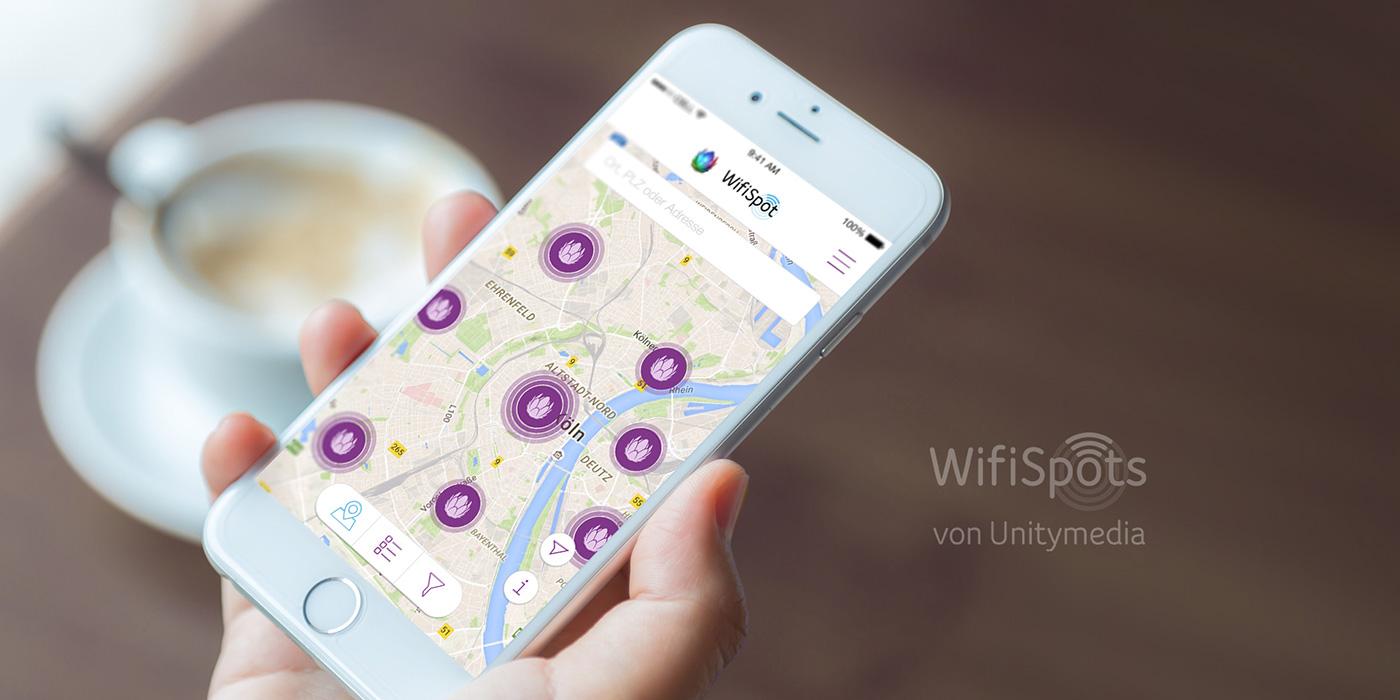 Unitymedia Wifispot Finder Karte