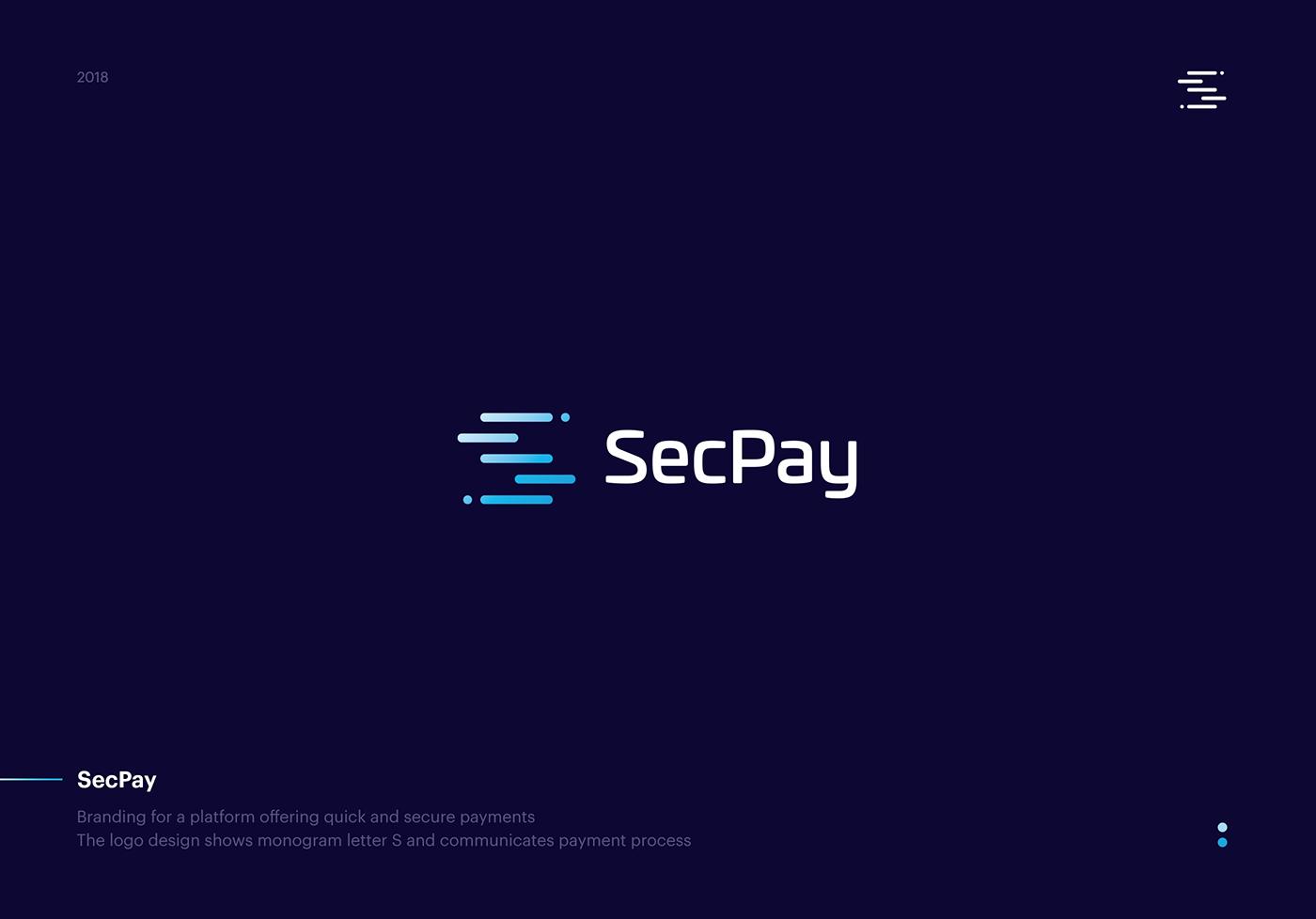 Crypto fintech logo