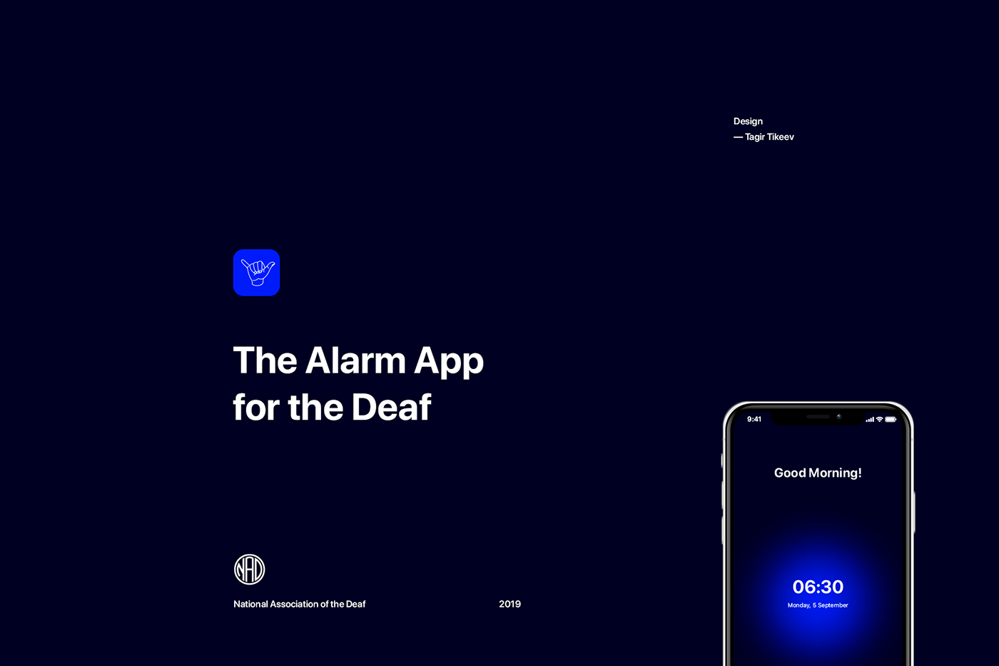 Alarm App for the Deaf