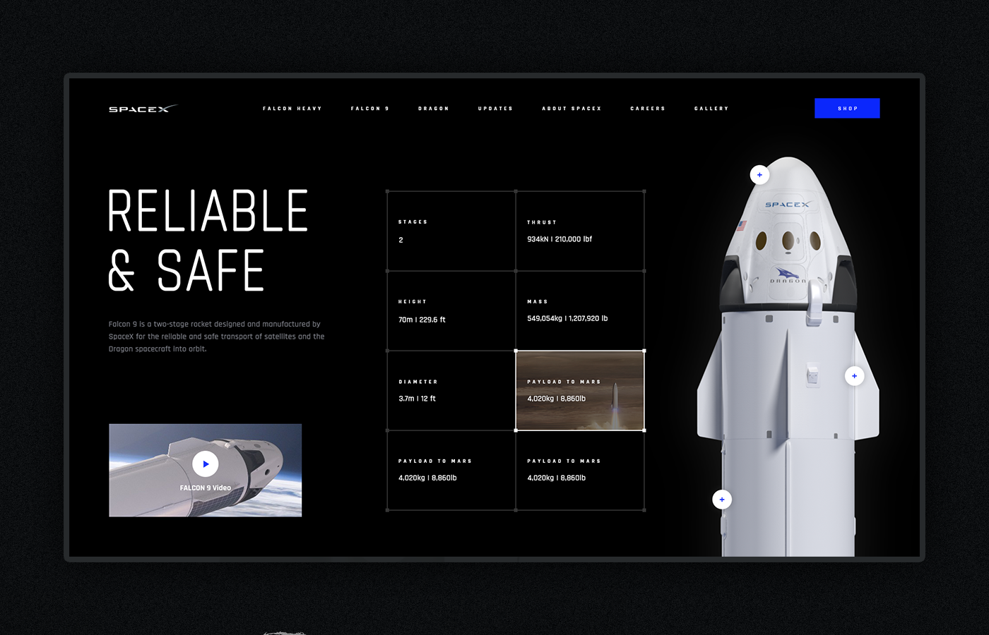 animation  UI ux Web Website redesign grid interaction Interface design