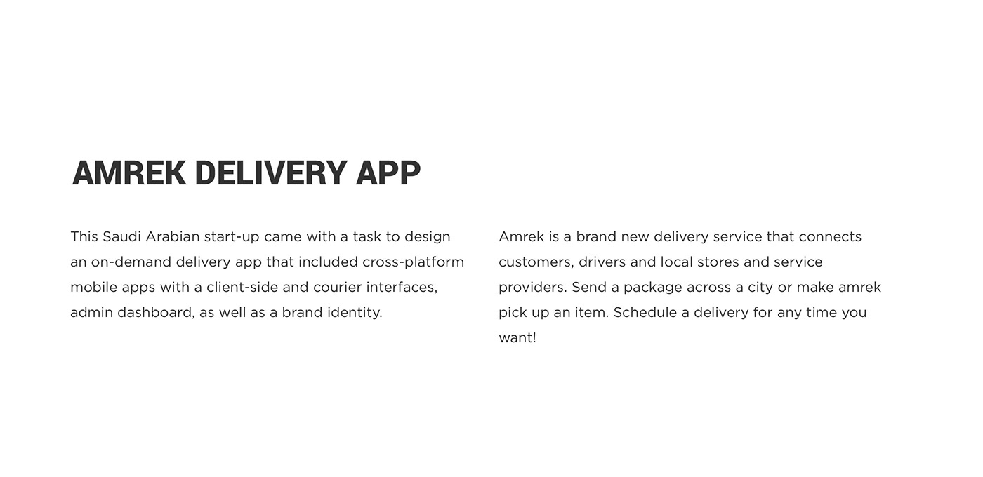 ios mobile delivery on-demand taxi app arabic UI/UX user interface user experience