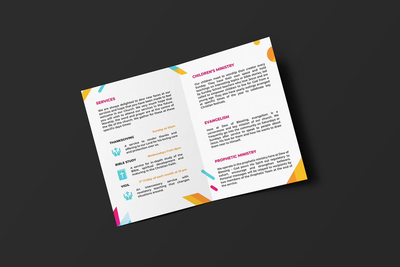 C & S Church Brochure (2 Concepts)