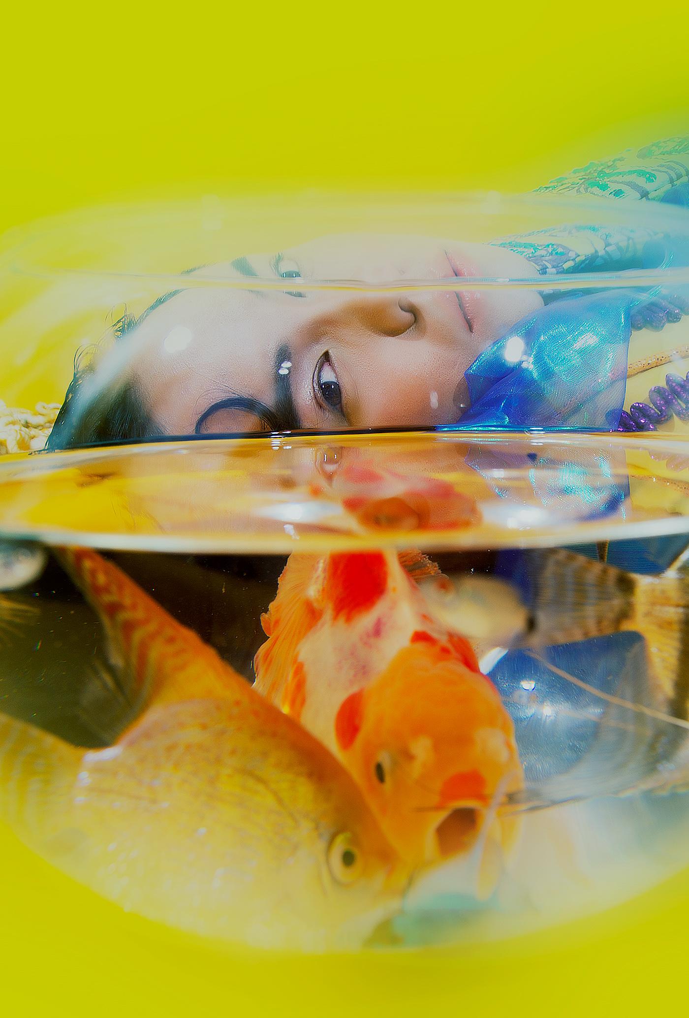 Image may contain: aquarium, indoor and baby