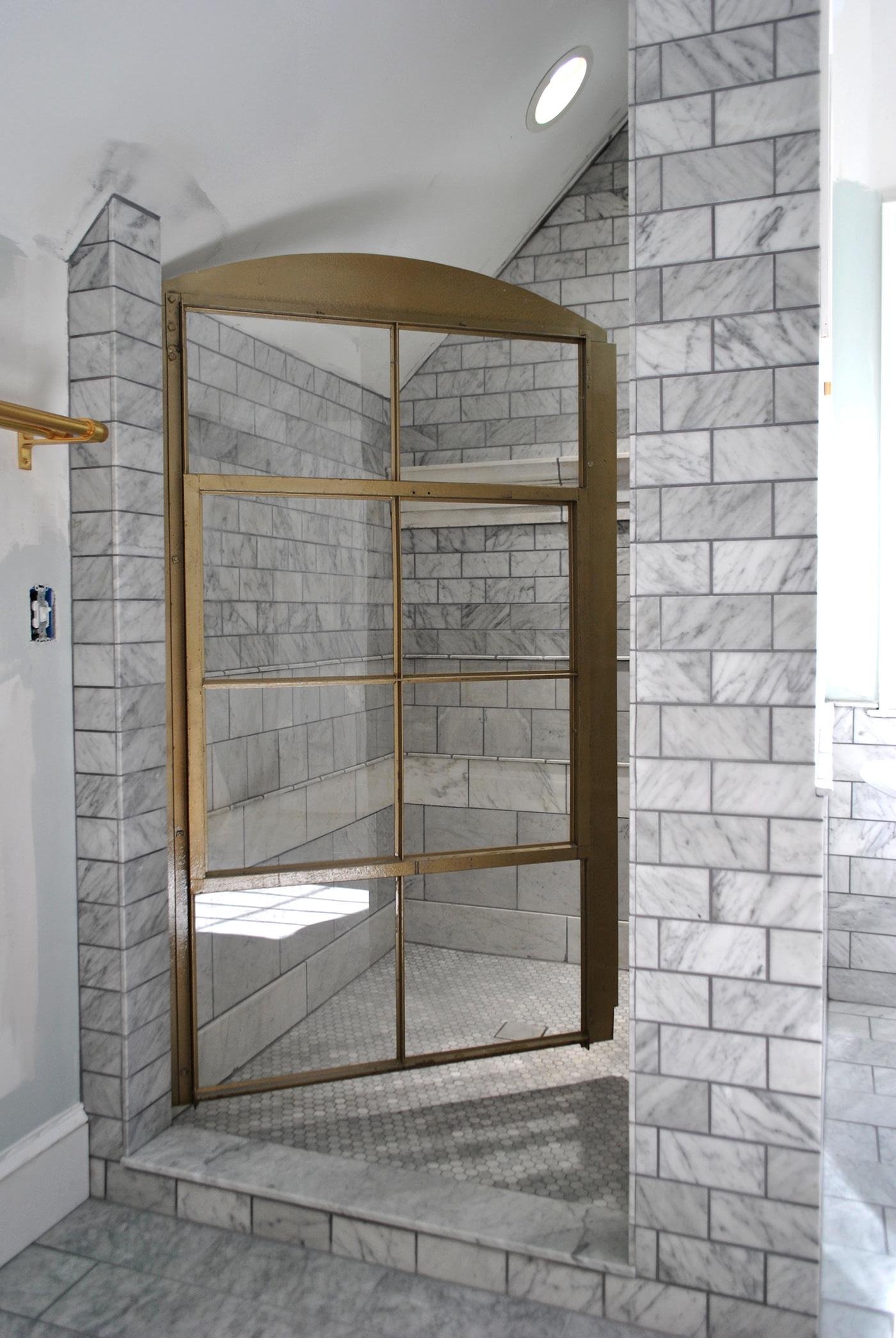 Image may contain: indoor, door and bathroom