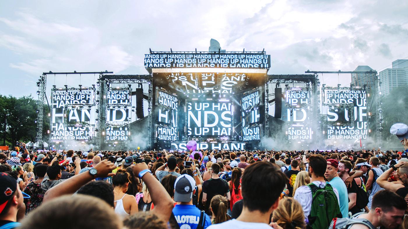 atrak typography   Livevisuals dj music industry
