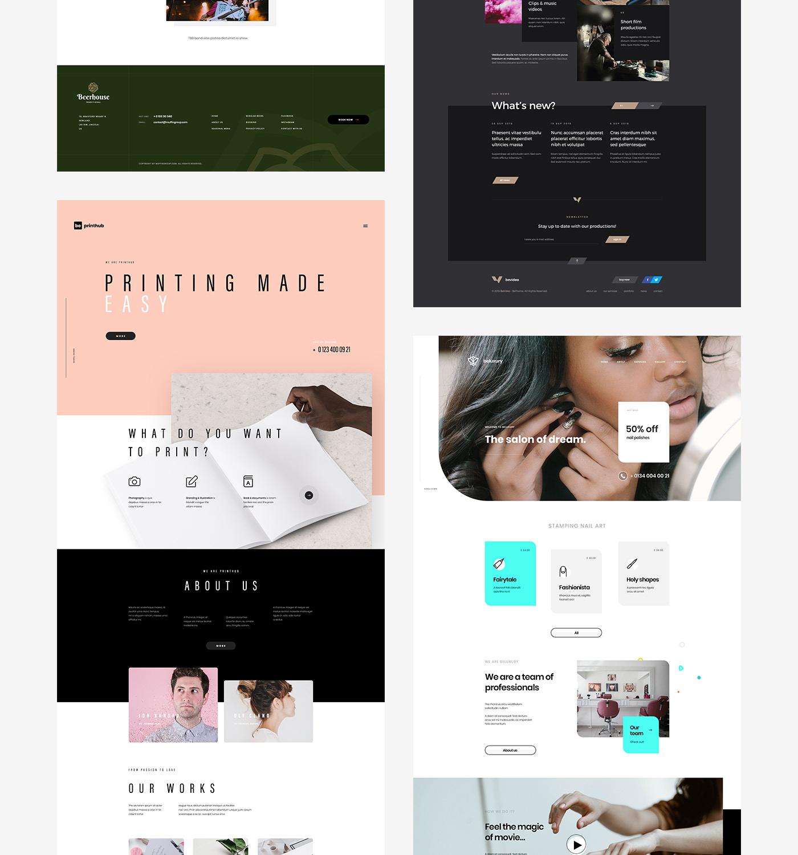 Website Theme Temaplate wordpress WordpressTheme UI ux poland