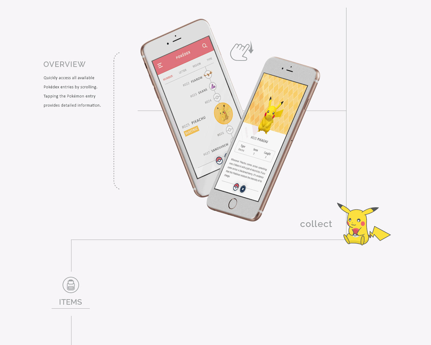 Pokemon pokemon go app UI ux mobile PokemonGO