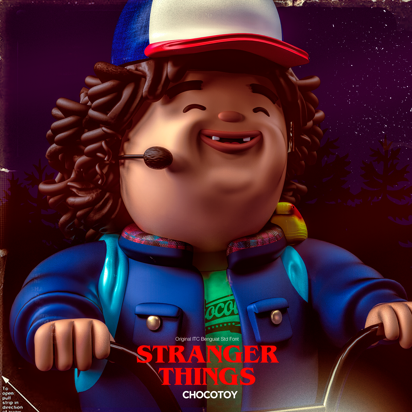 Stranger Things - chocotoy on Behance
