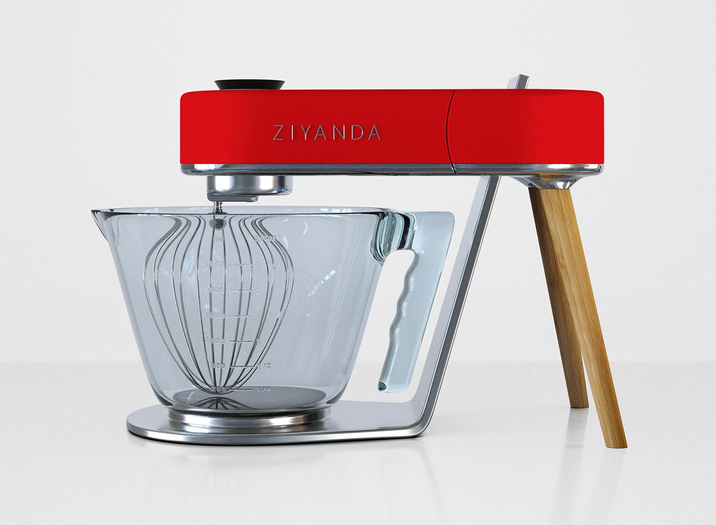 Modern Exhibition Stand Mixer : Ziyanda stand mixer on wacom gallery