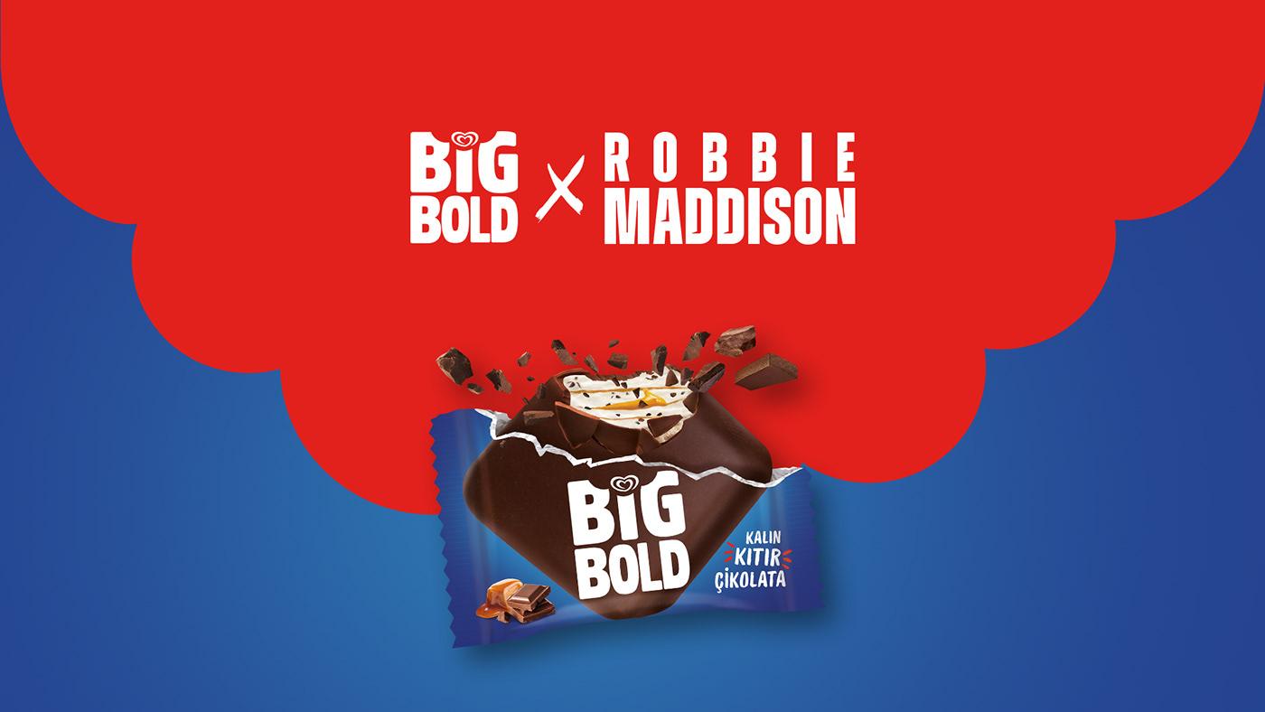 algida BigBold dondurma ice cream post social media story Unilever