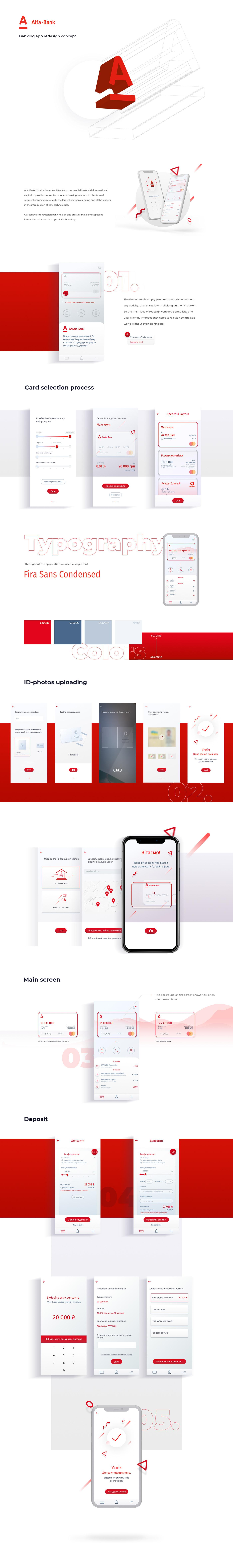 alfa-bank banking finance ui ux mobile design dashboard Bank card credit