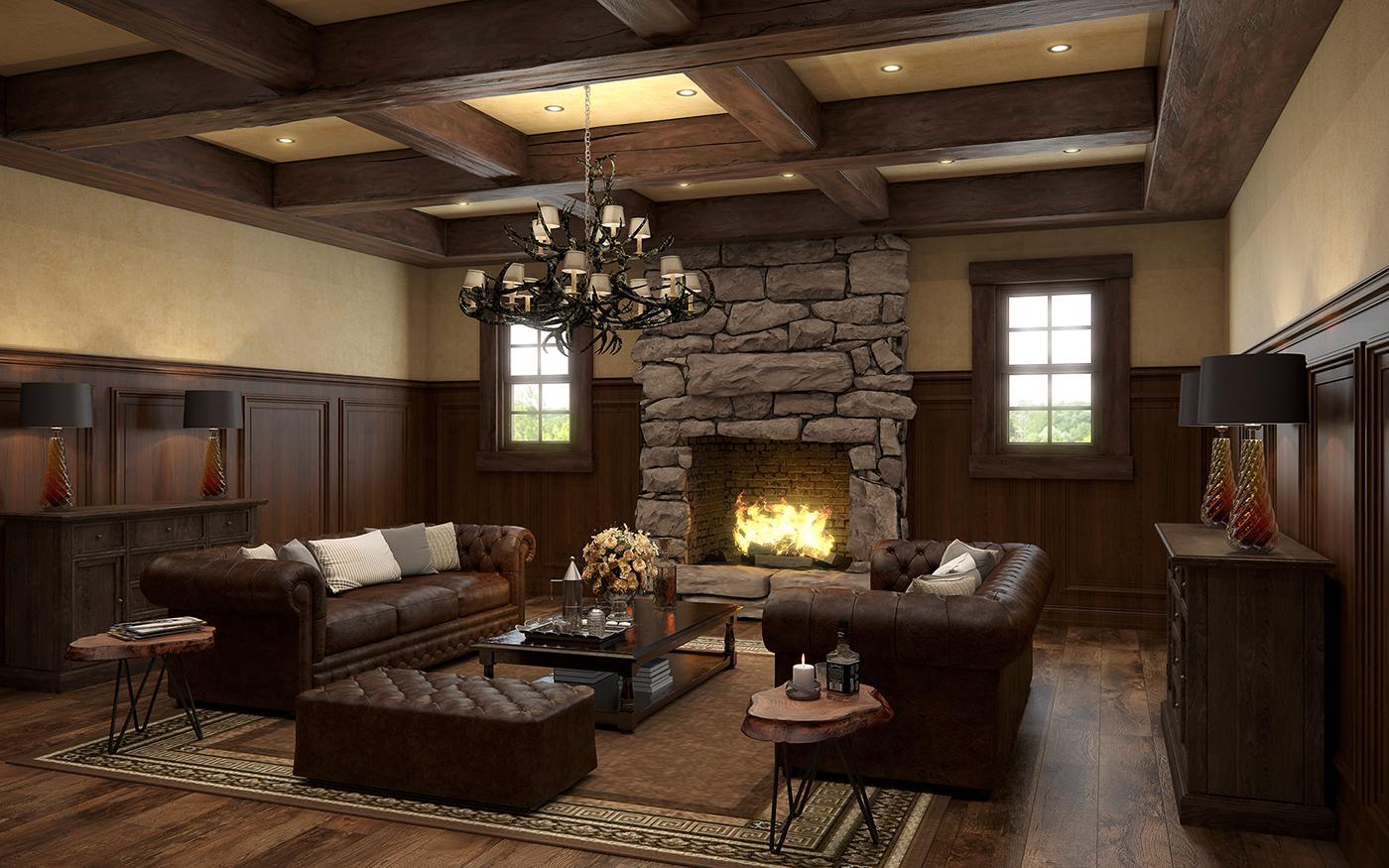 Interior Renderings visualization