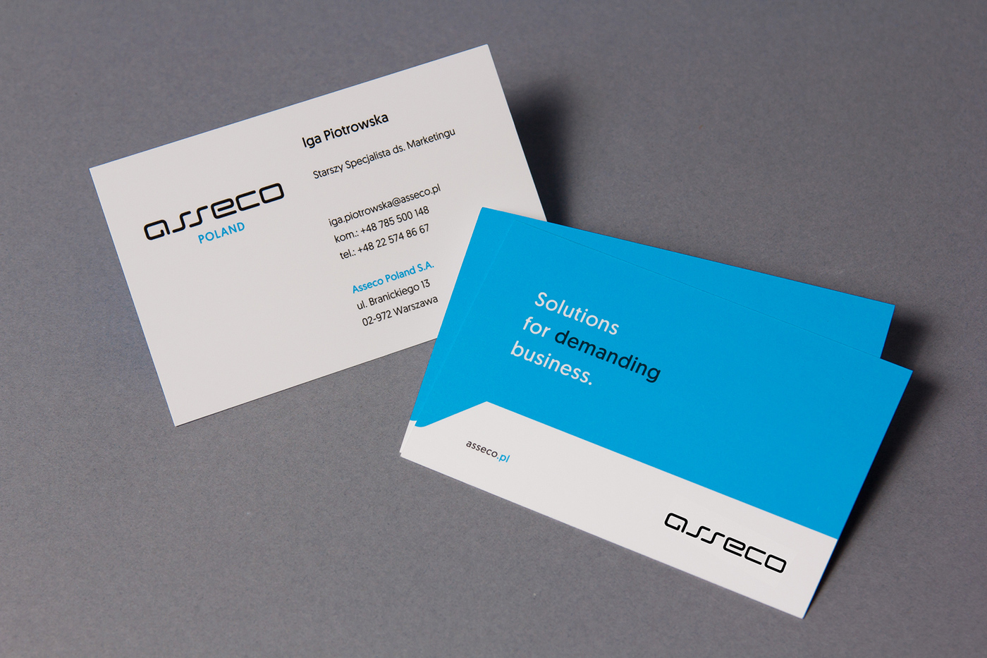 Asseco on Behance