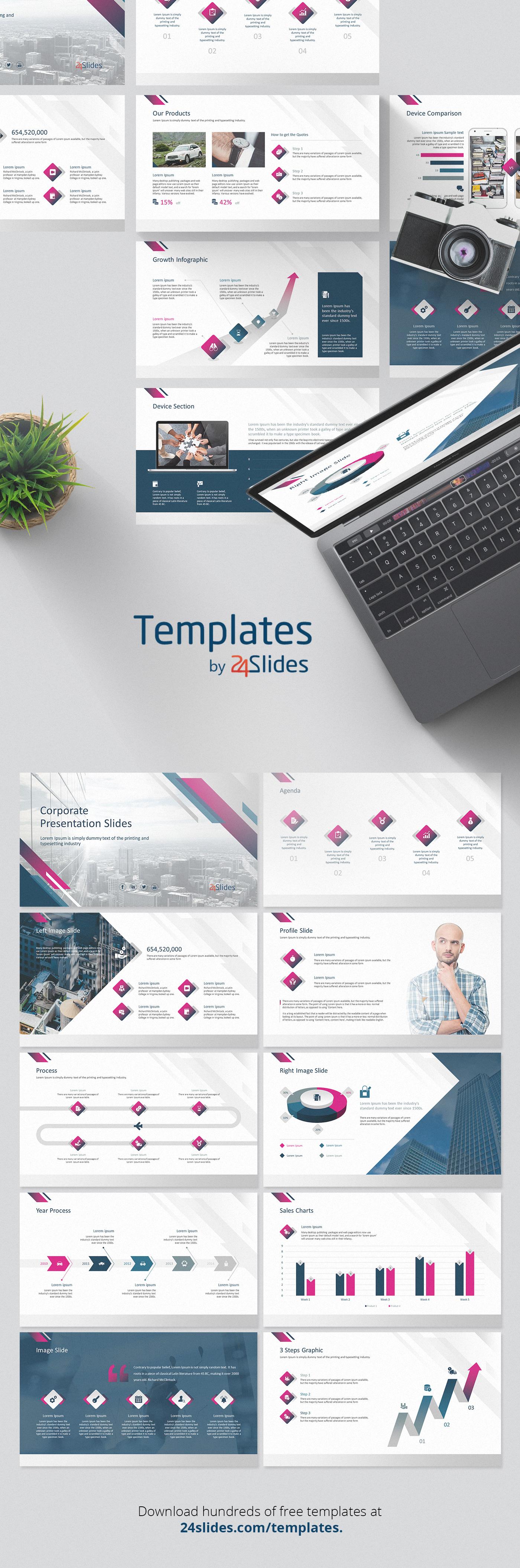 Presentation templates presentation Free Template corporate branding  Business presentation