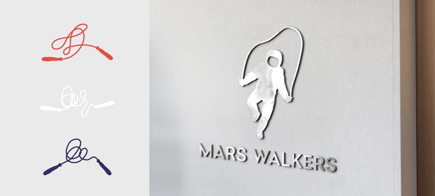 Mars Walkers On Behance