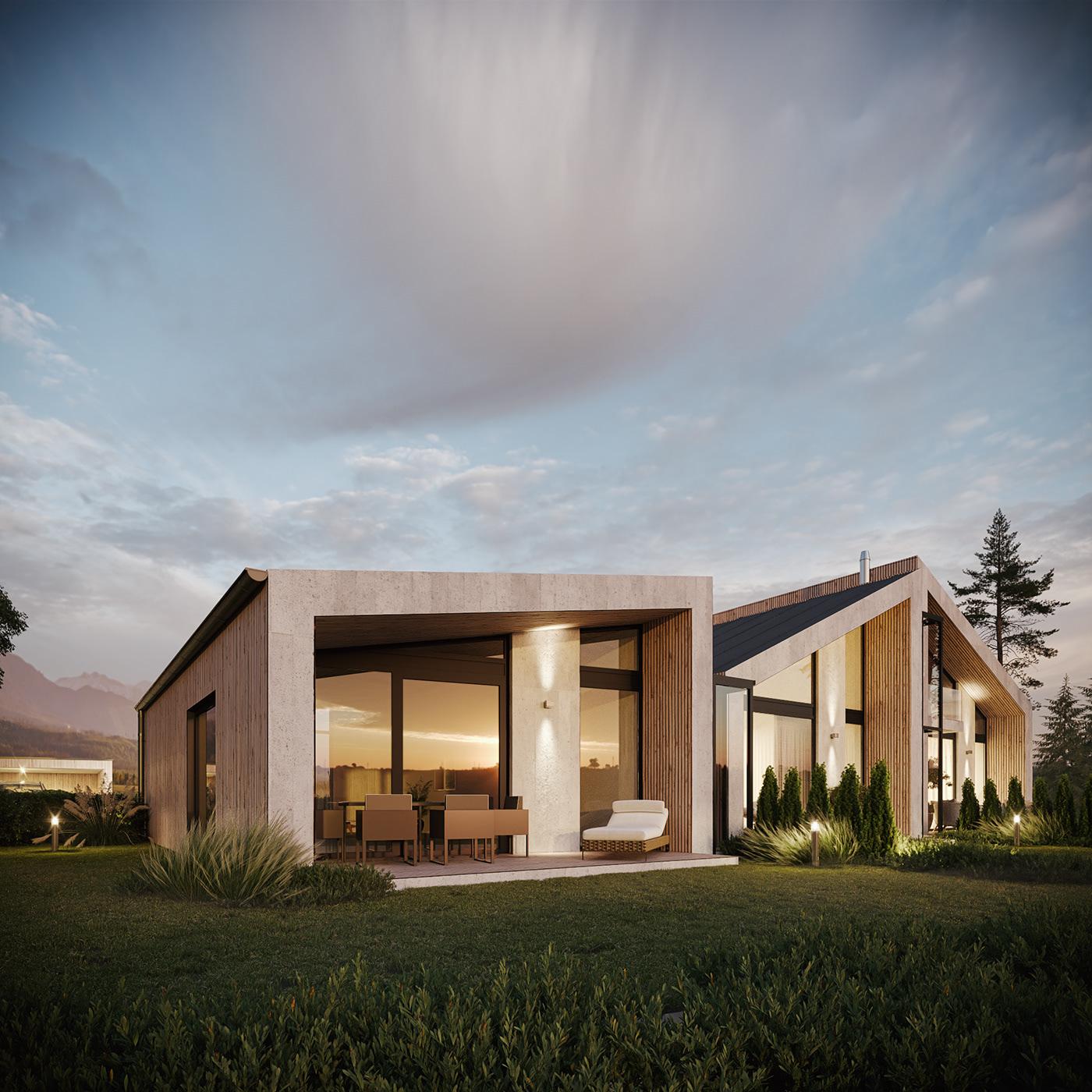 3dmax arch architecture CGI CoronaRender  design Render revit visualization viz
