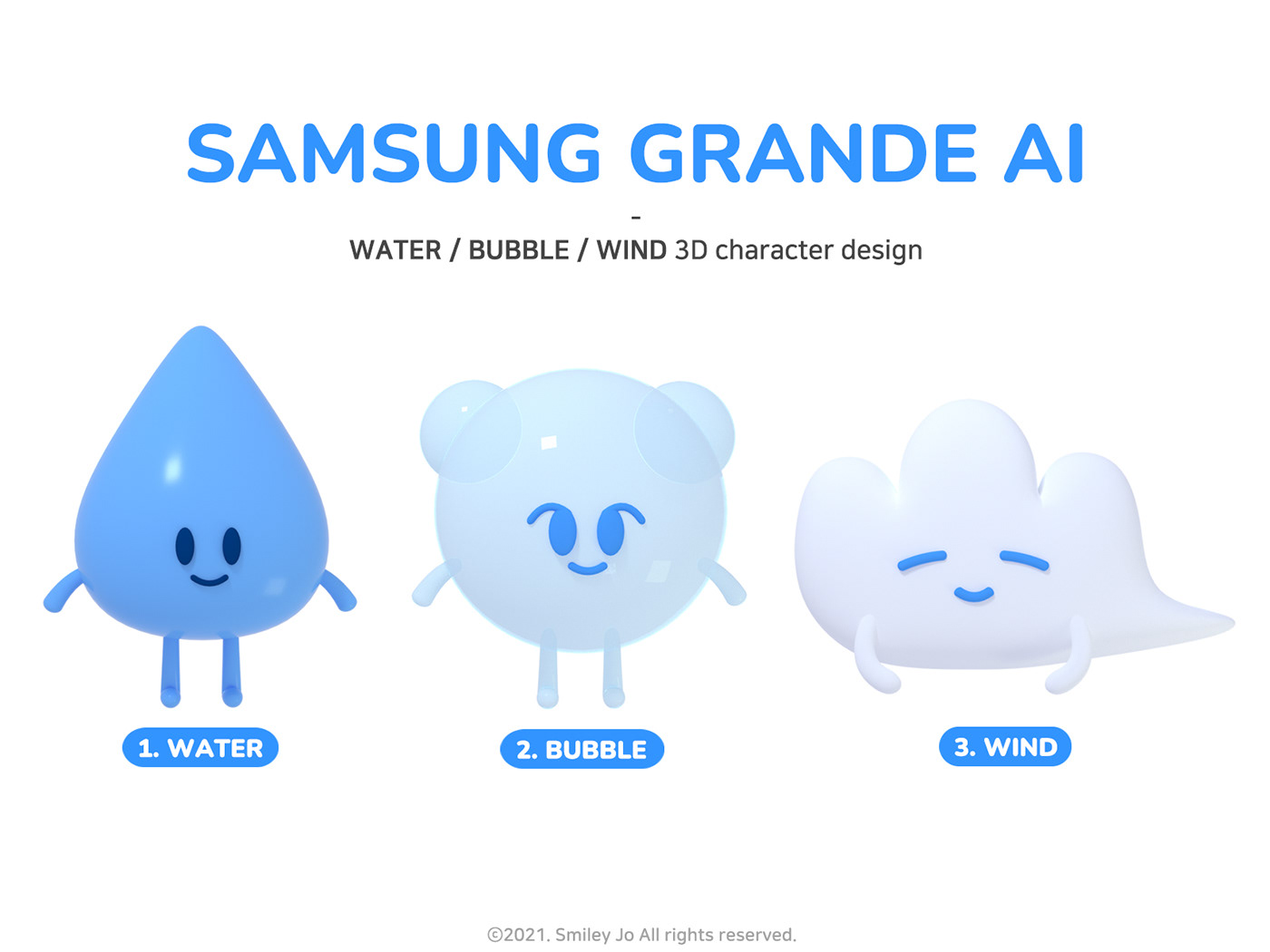 3D 3dcharacter 3dmodeling Character characterdesign graphic Promotion Samsung