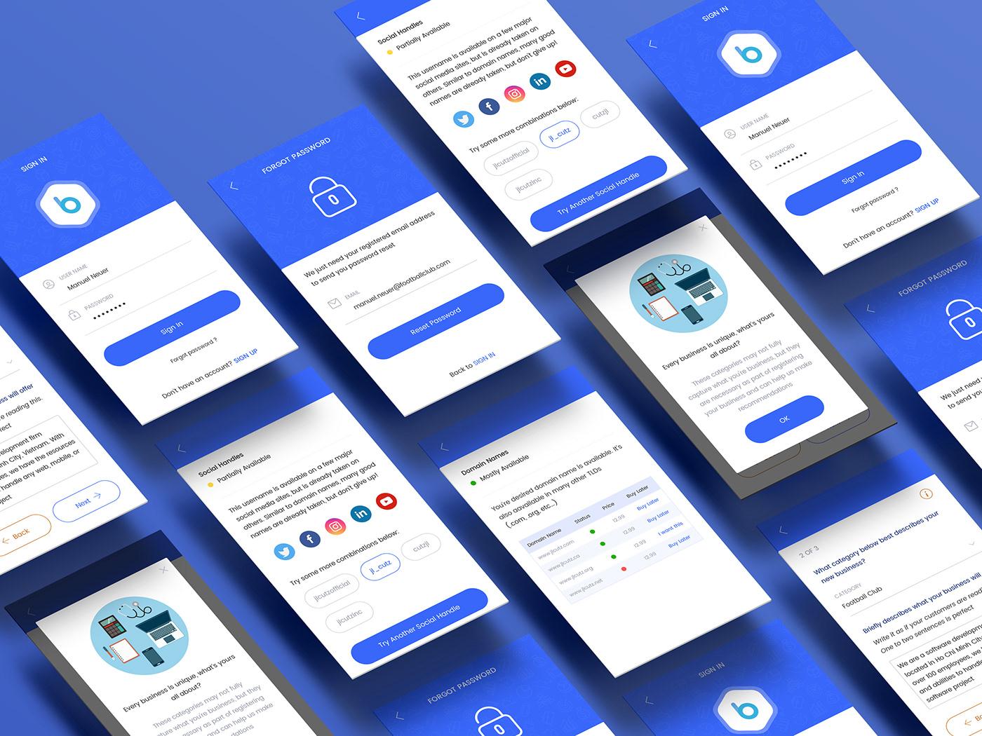 App / Template / UI UX/ Design / Mockup / Branding on Behance