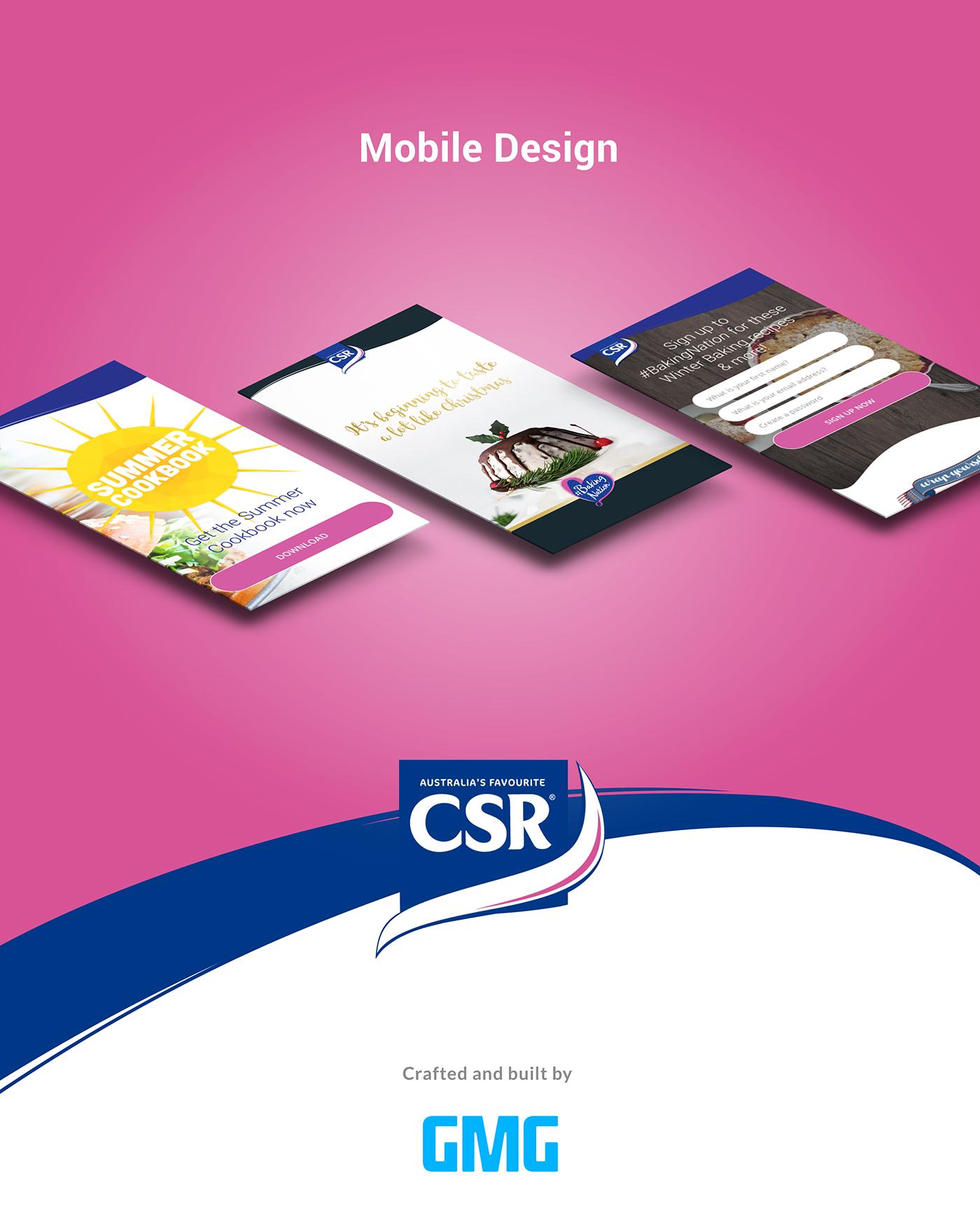 UI ux interaction digital design Website landing page mobile Australia Melbourne Web Design