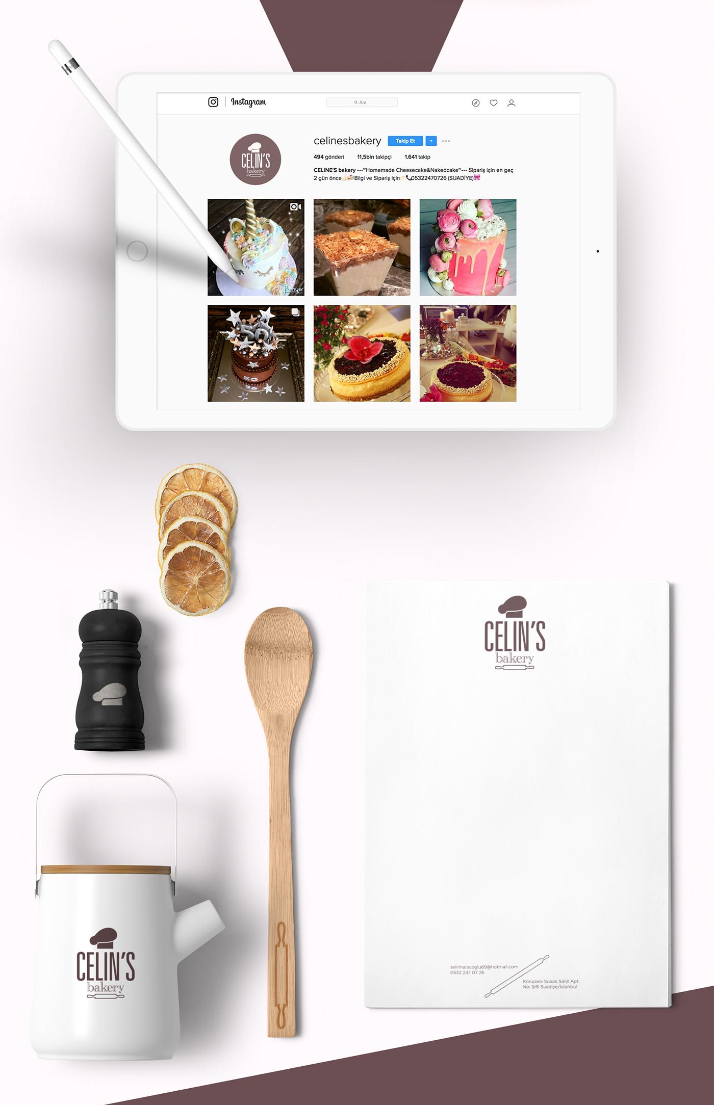 Celine's Bakery, Branding ID on Behance