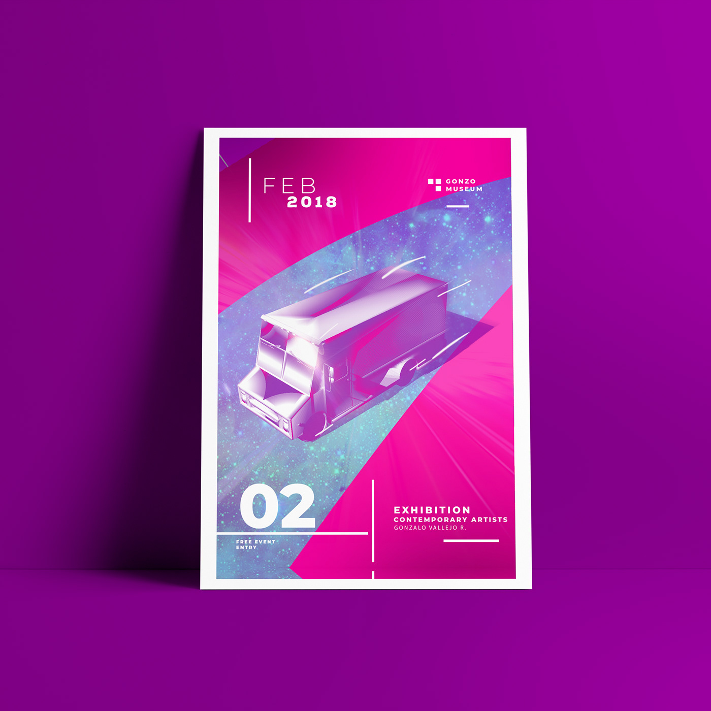 Posters in cinema 4D on Behance