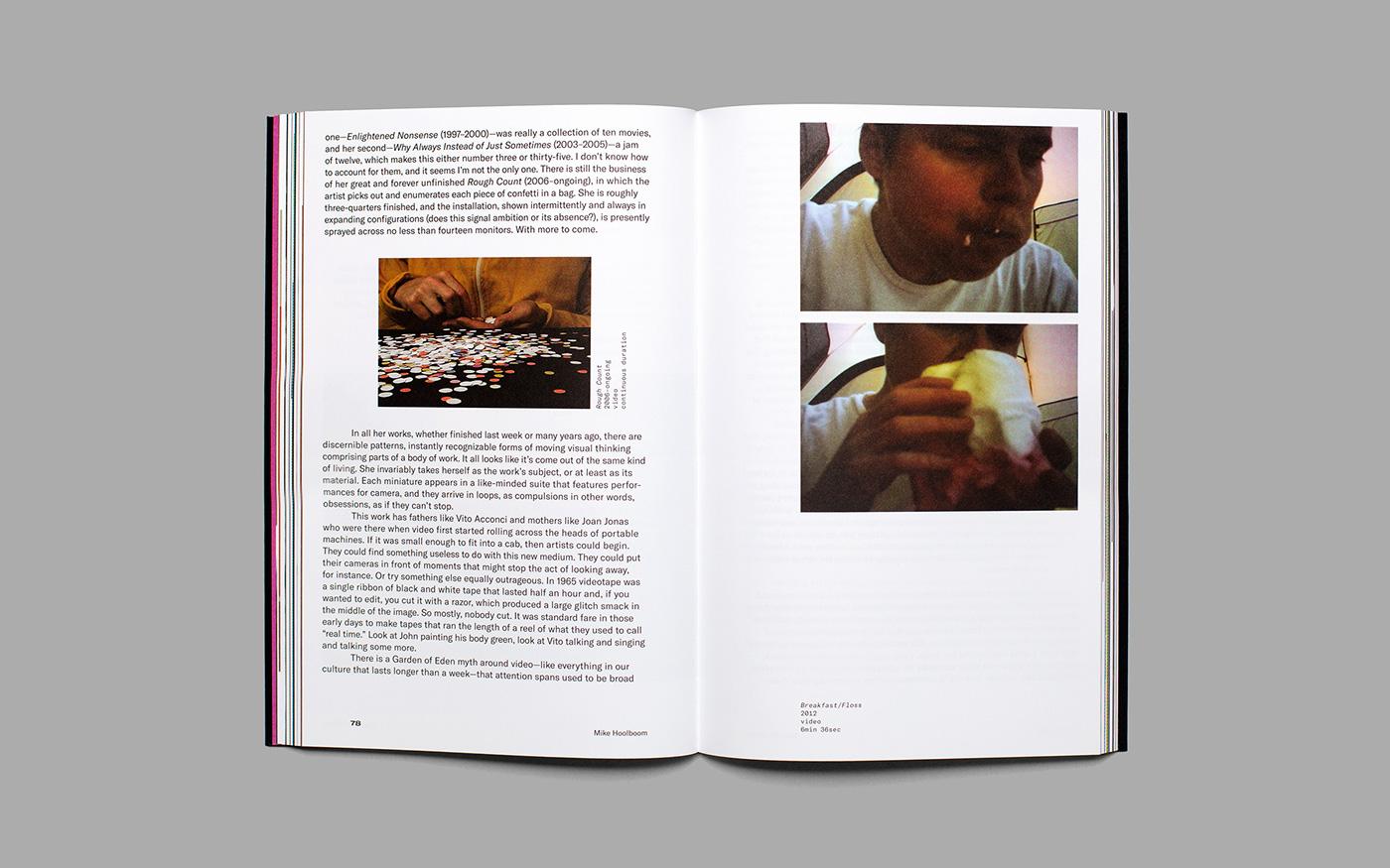 book design,artist book,artist catalogue,fine art,Monograph,film and video,art,Catalogue design
