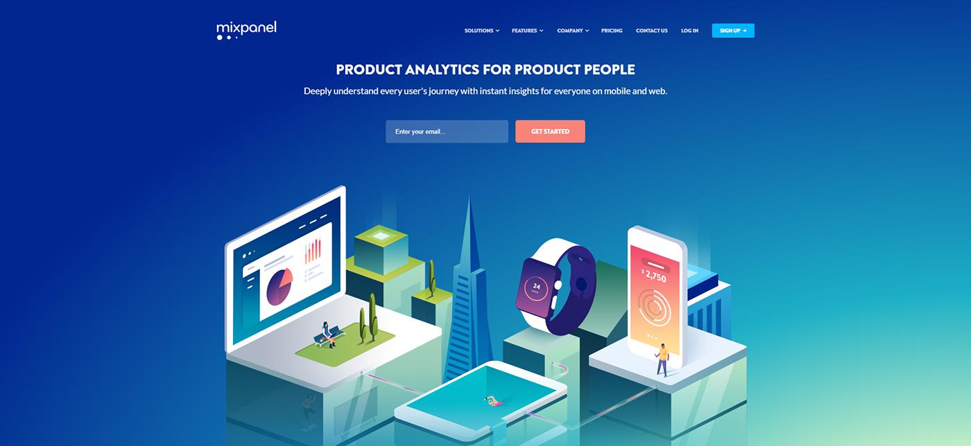 Web design trends in 2018 - WebRecital com