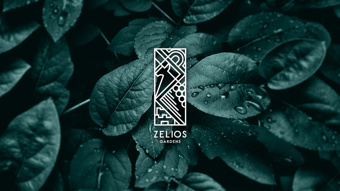 Flowers herbs garden botanic Flora Corporate Identity branding  logo Tree  plants