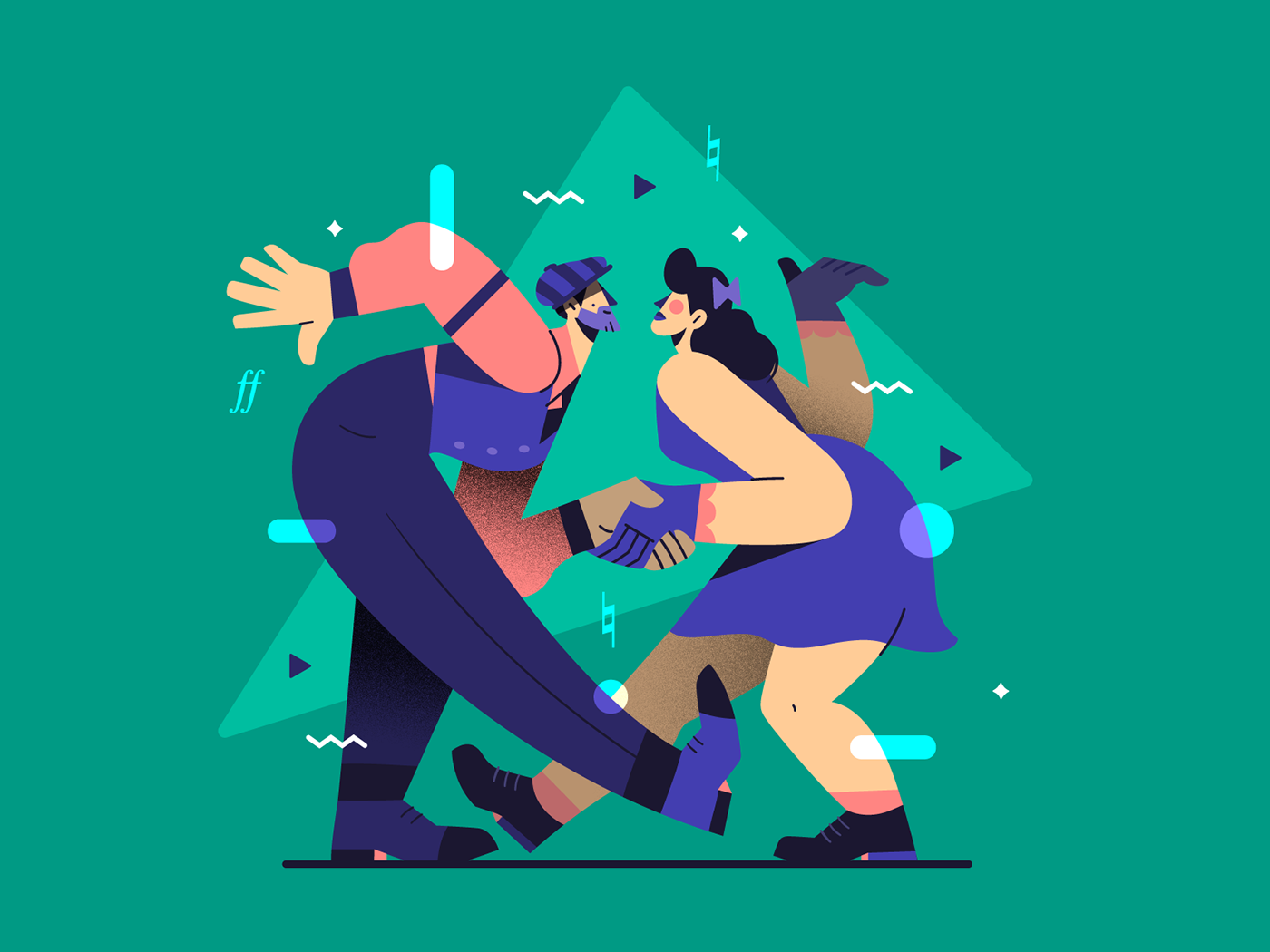 Image may contain: cartoon, illustration and christmas tree