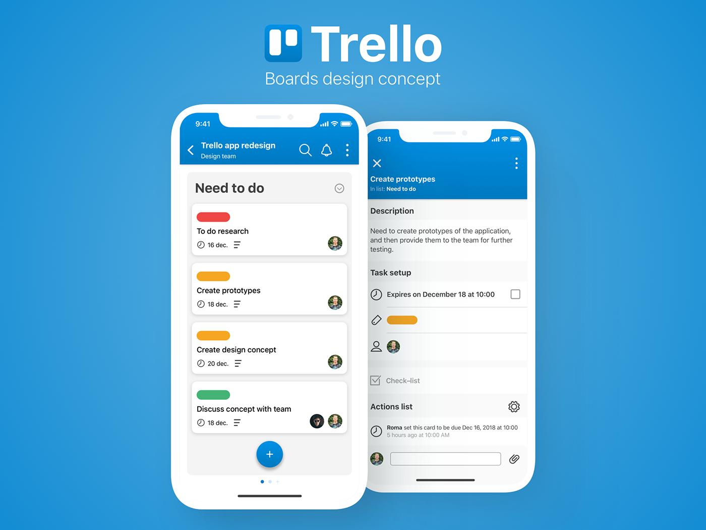 Ứng dụng Trello có tính trực quan cao