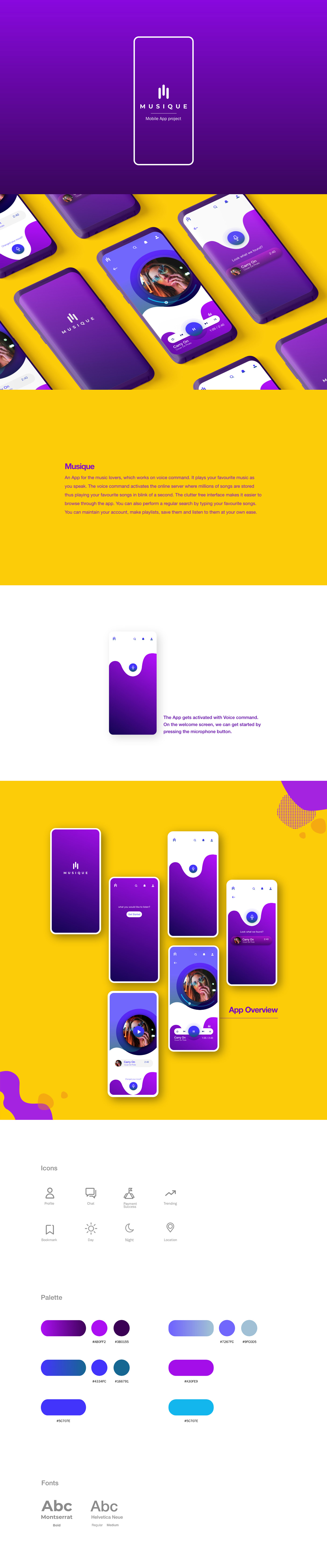 UI/UX Interaction design  design Appdesign app Interface user interface user experience interaction Voice Activation