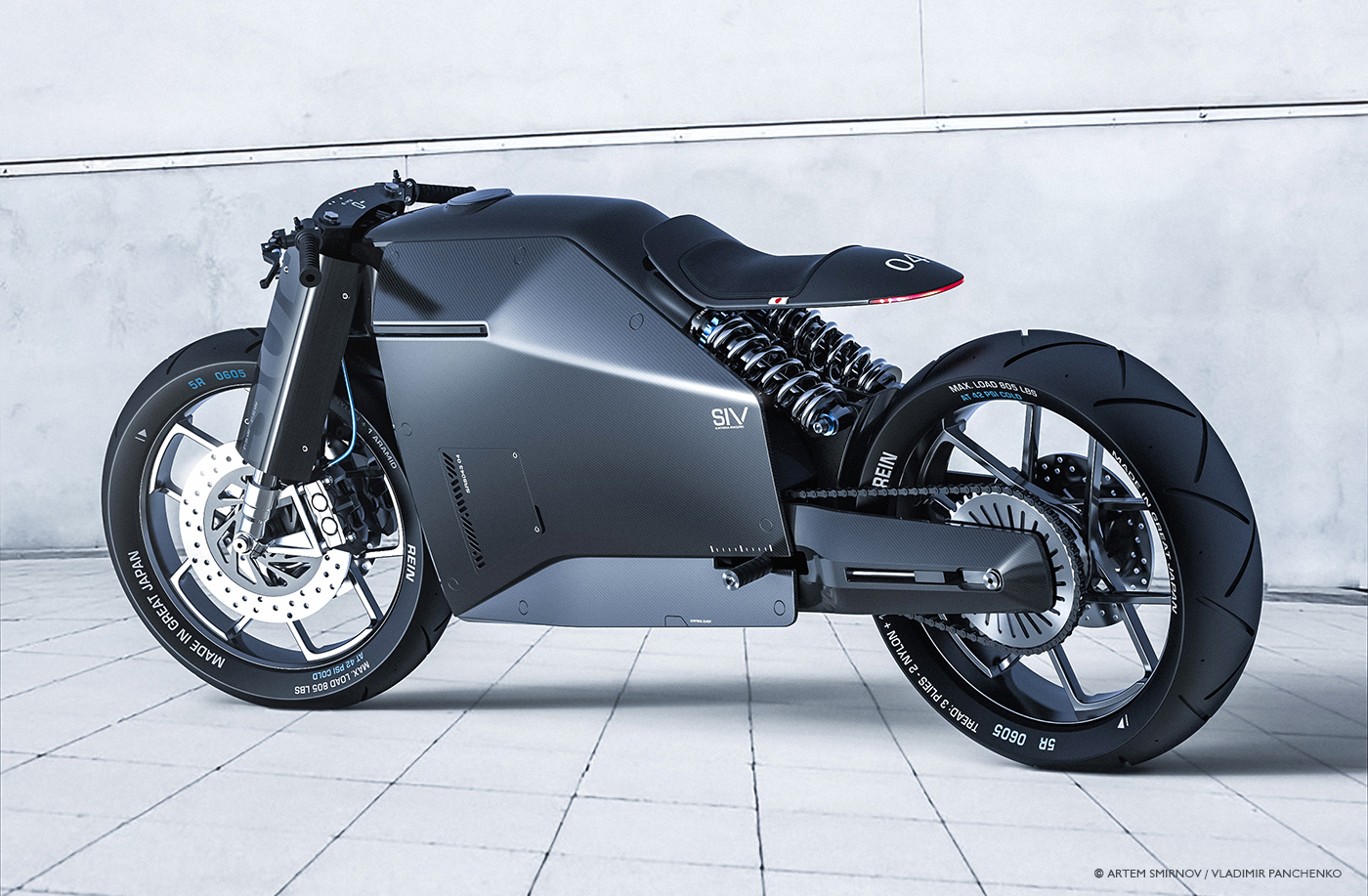 Industrial Design: Motorbike from Great Japan